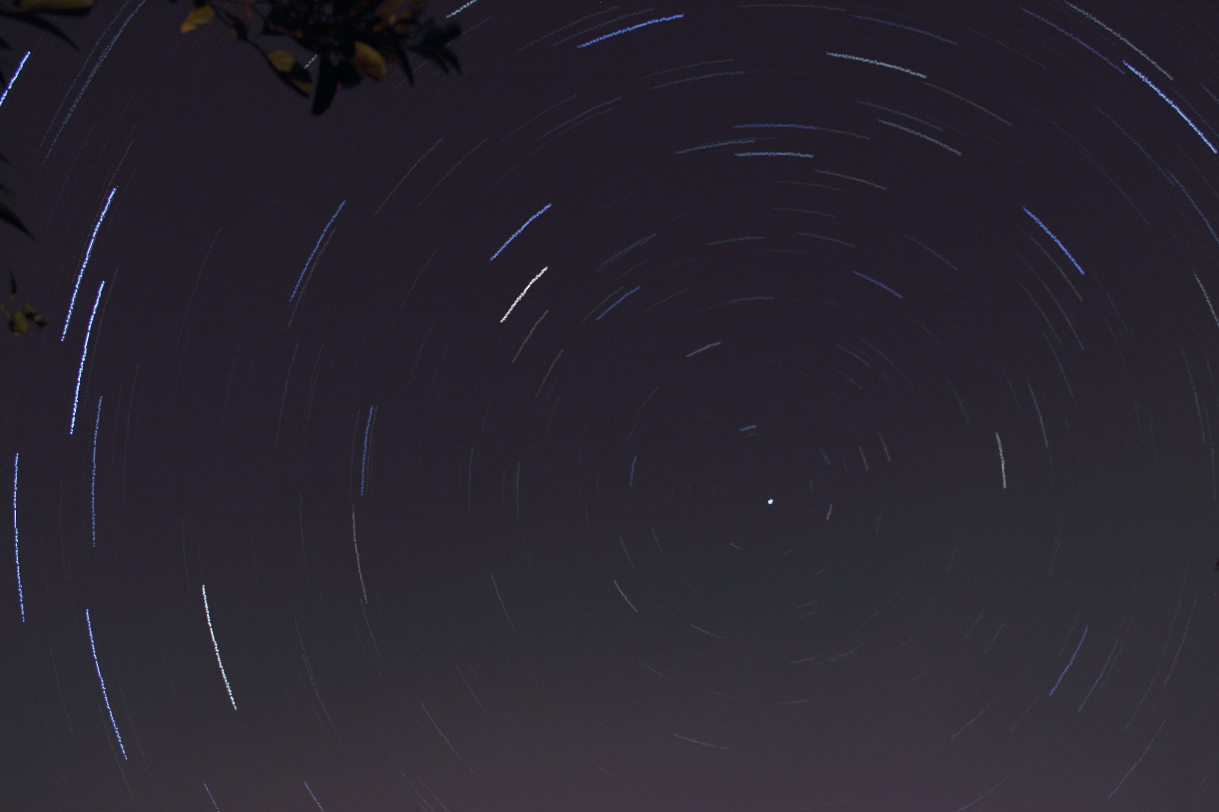 first Startrail...
