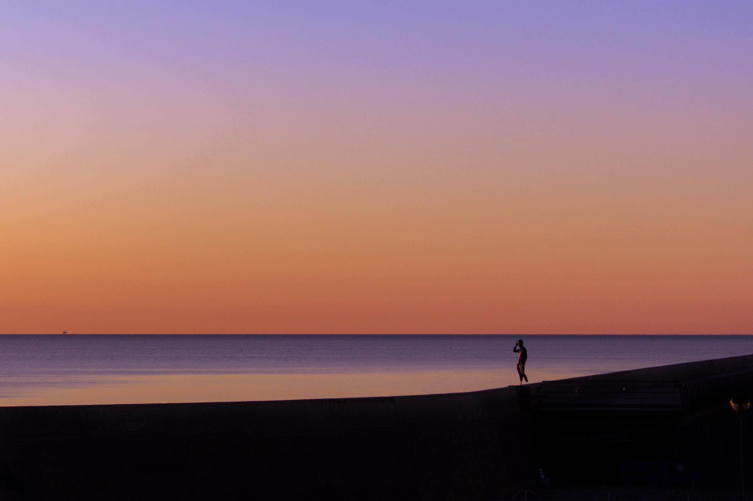 minimal sunrise...