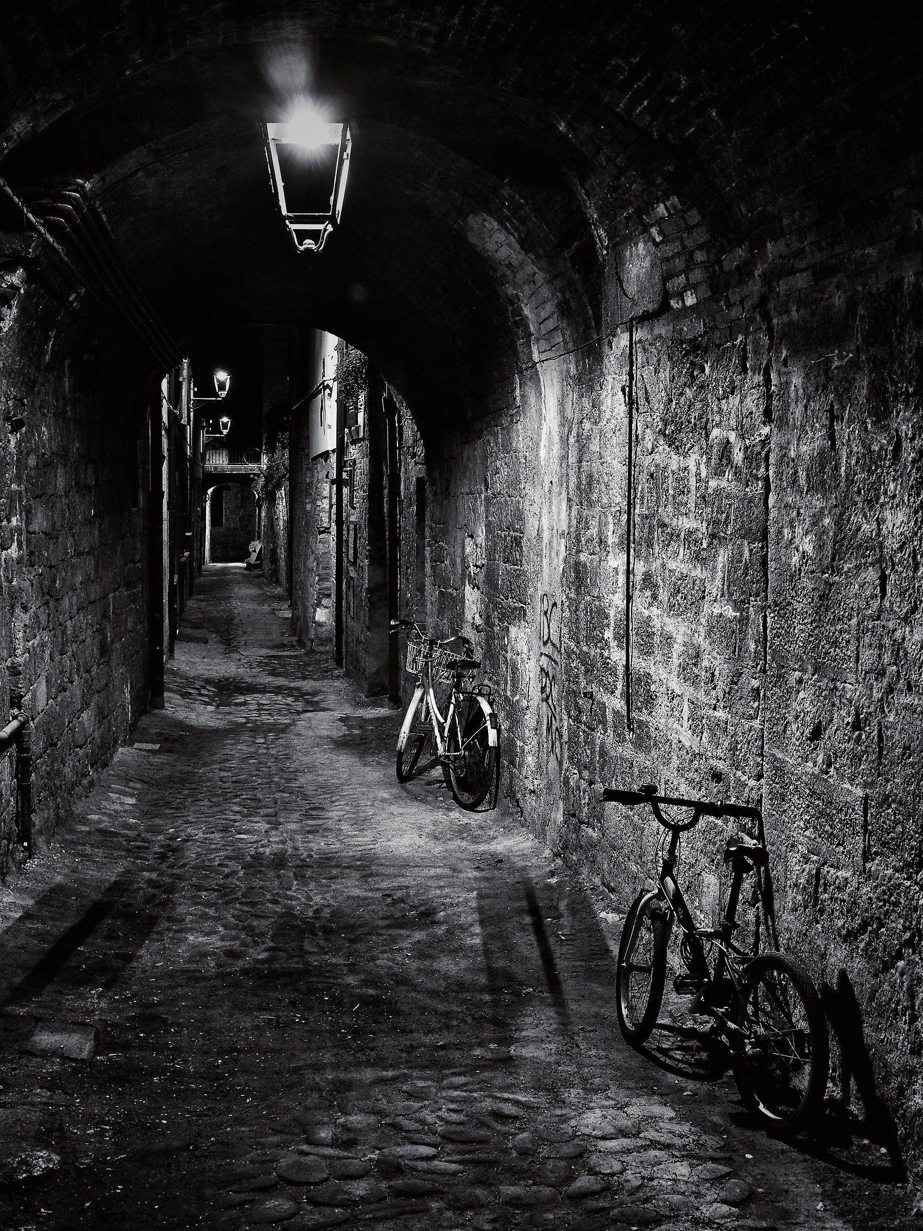 La solitudine di un vicolo...