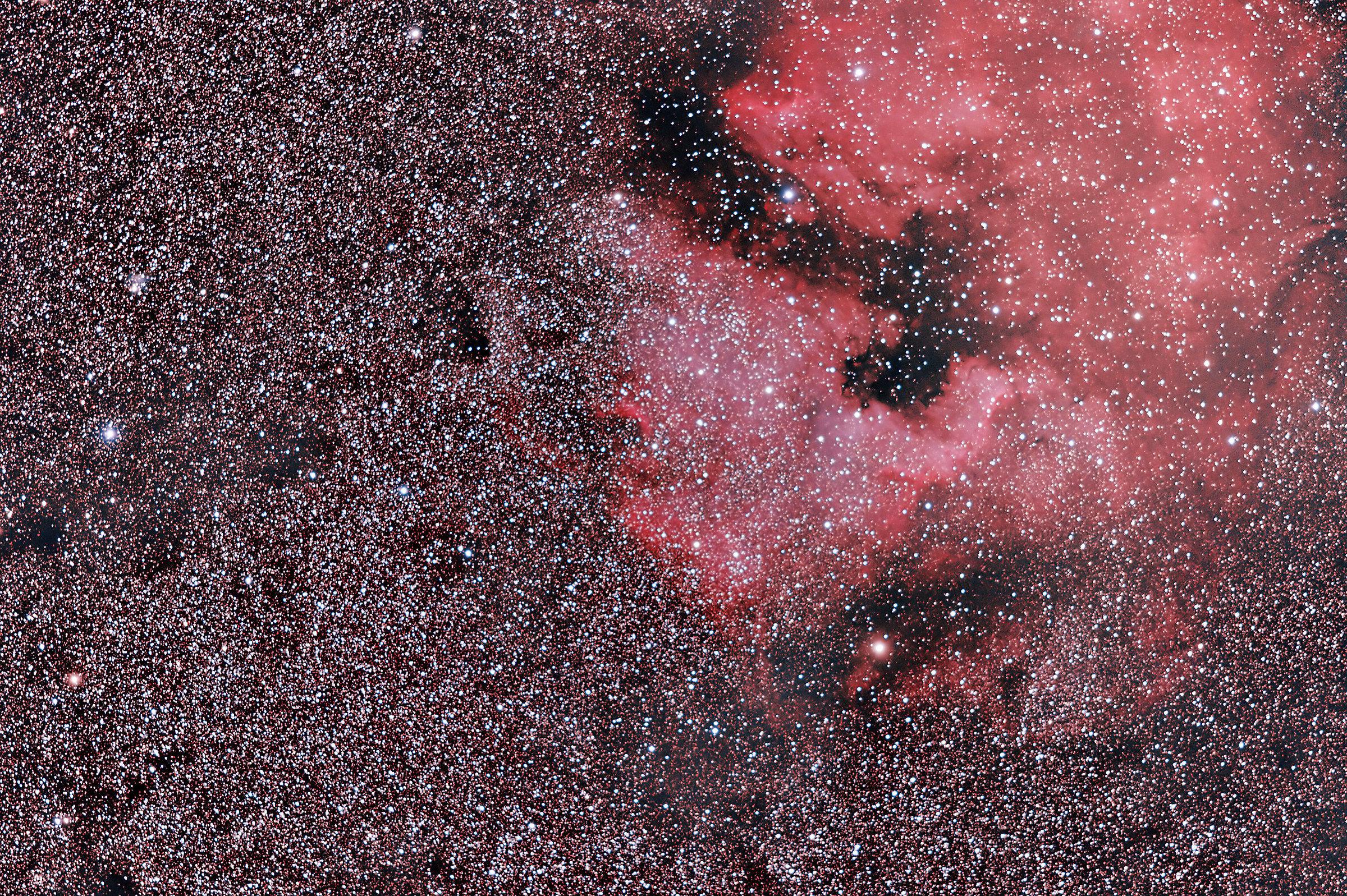 NGC 7000, Nebulosa Nord America...