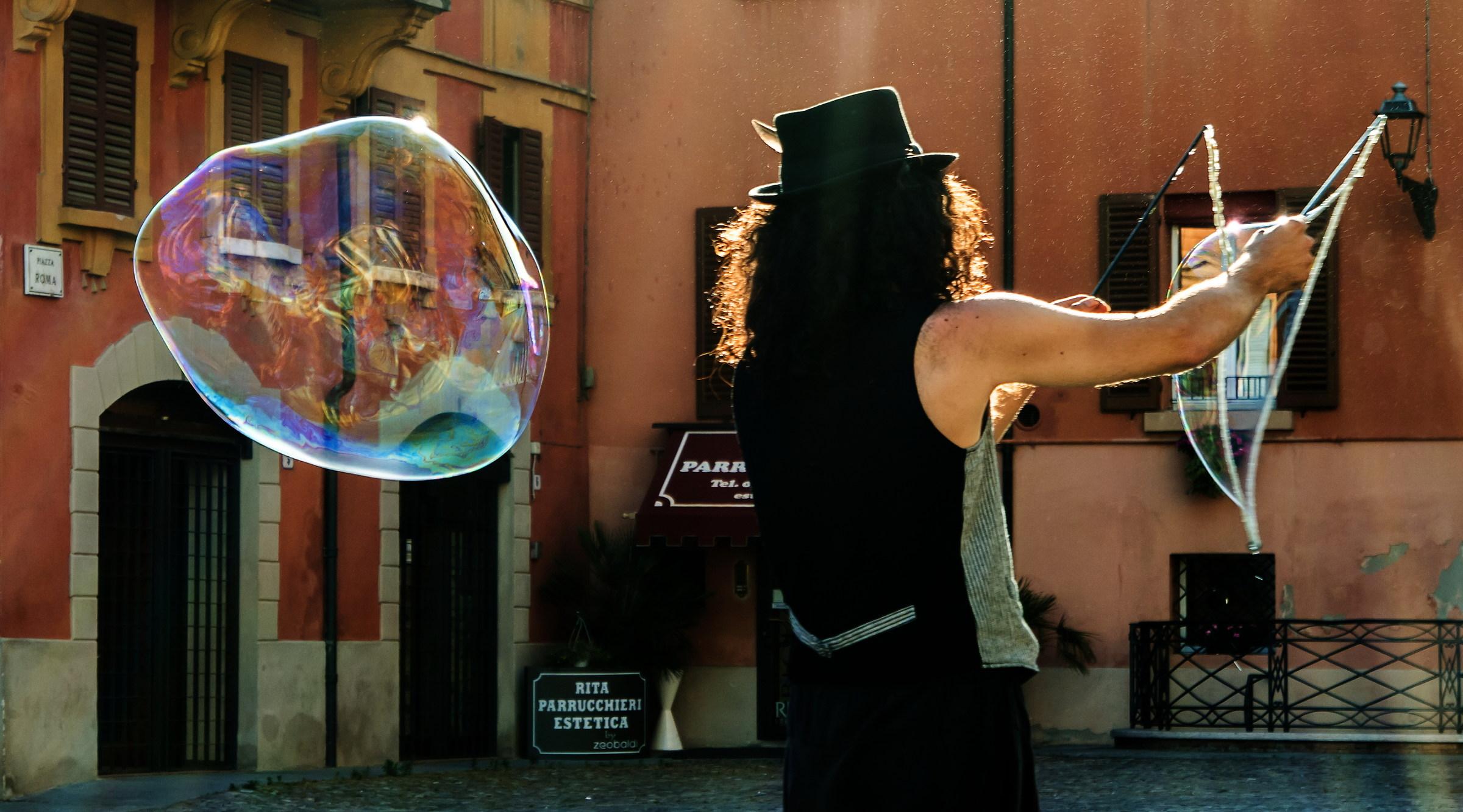 The bubble...