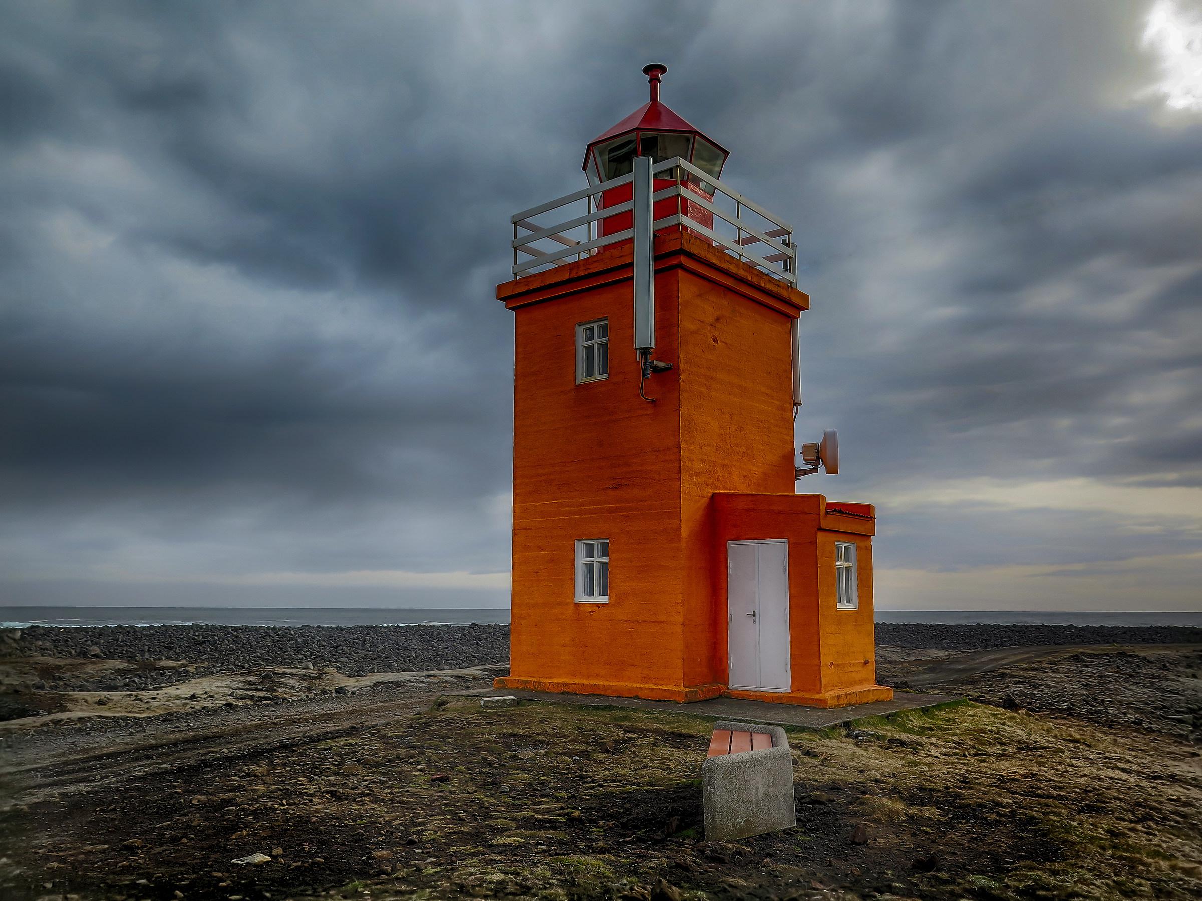 Lighthouse Hòpsnes...