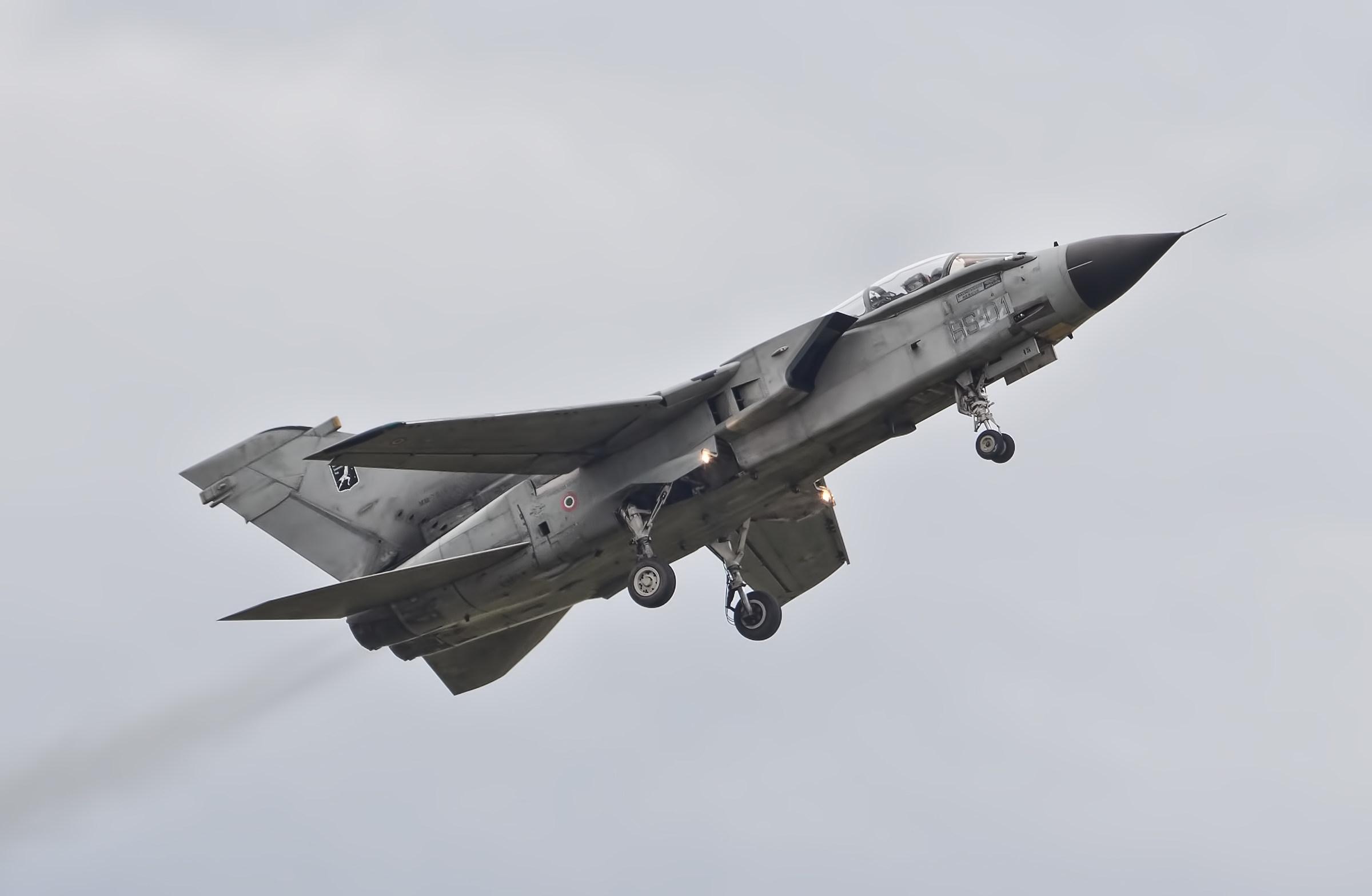 Tornado fighter...