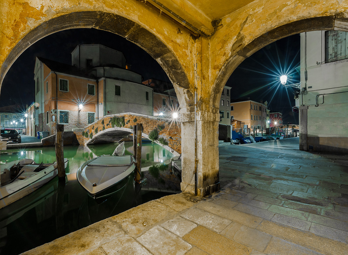 Chioggia. The Night...