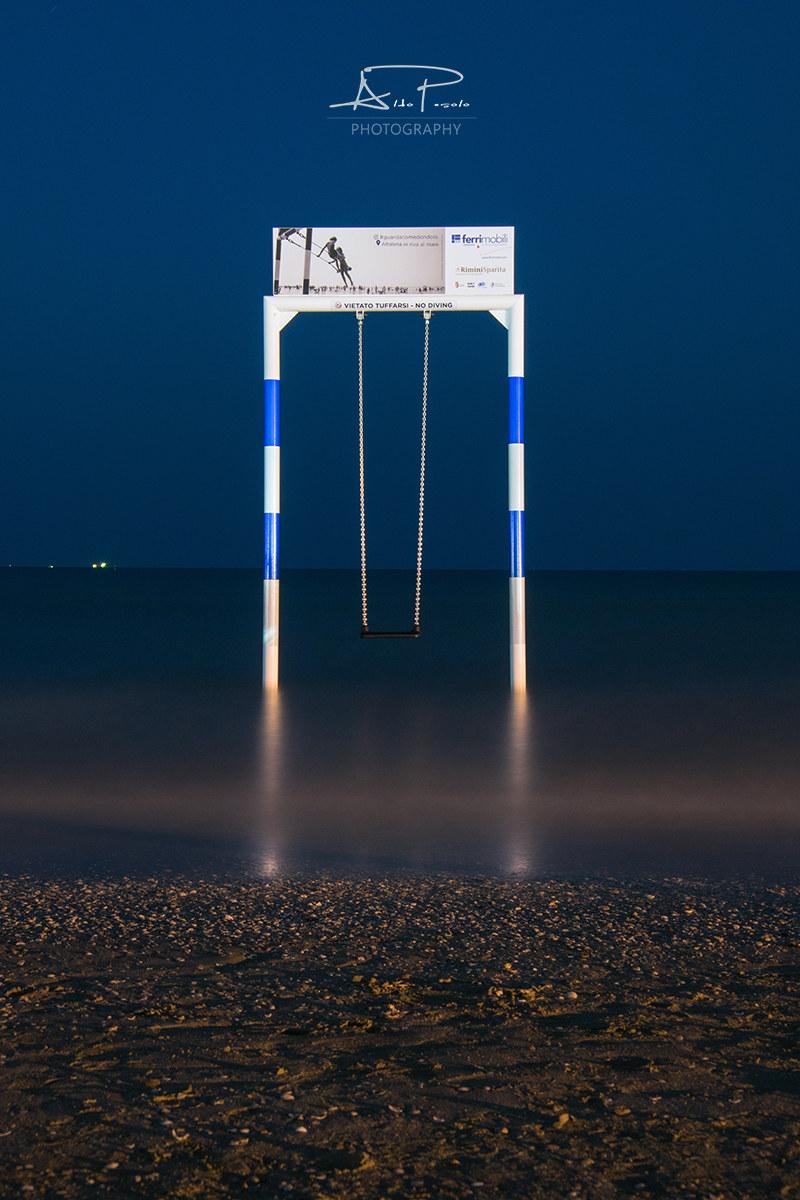 The swing...