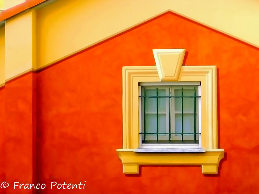 Camogli facade...