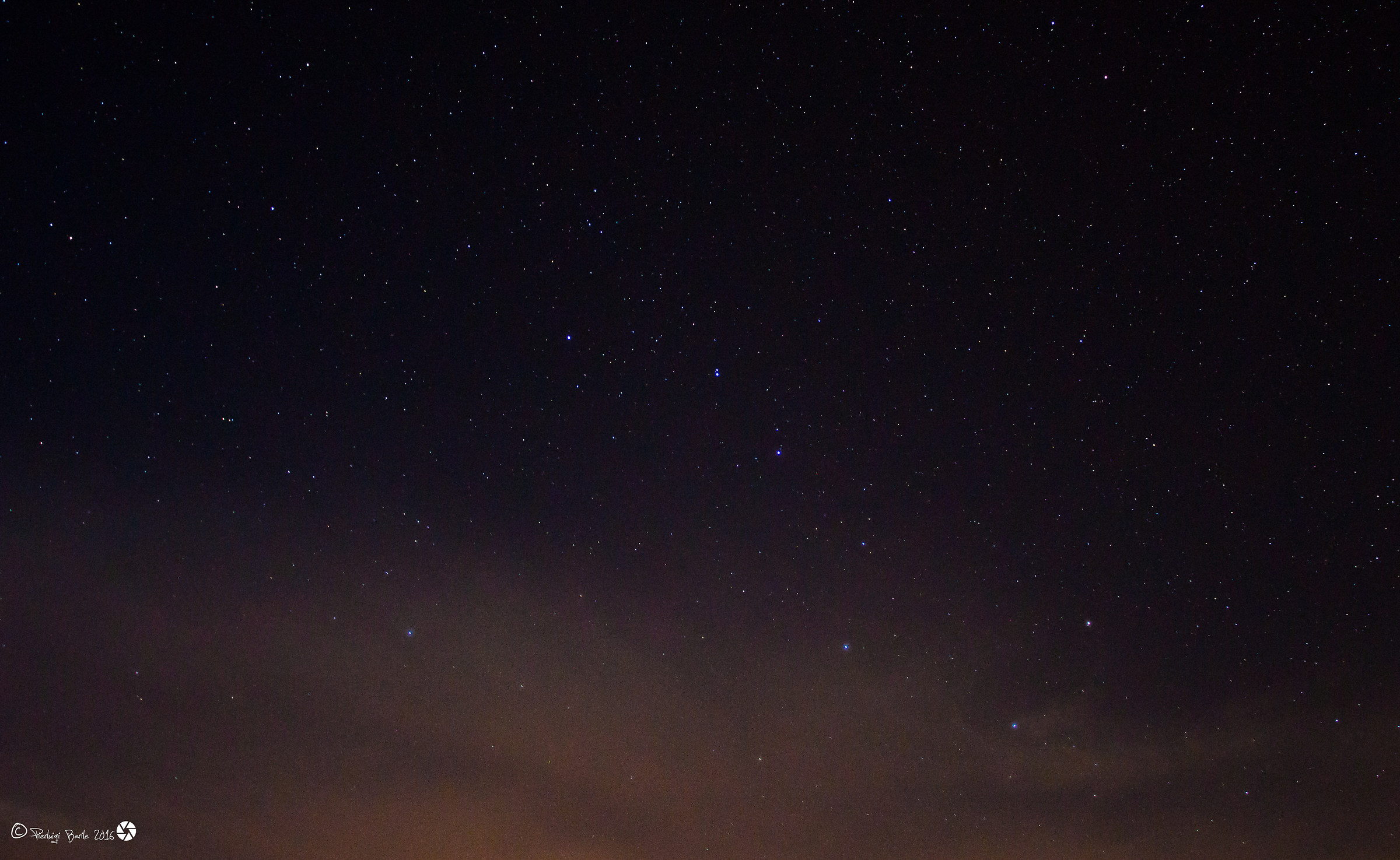 Once the celestial and the Big Dipper...