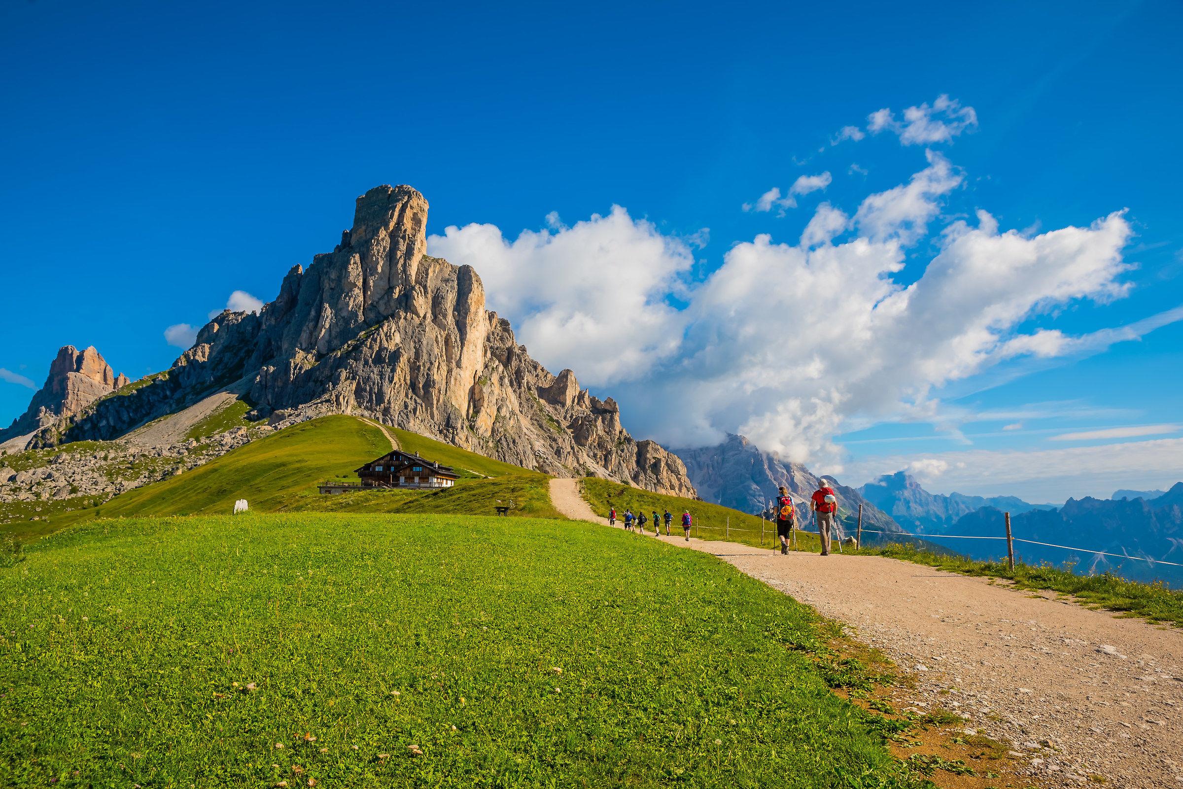 Passo Giau Dolomiti...