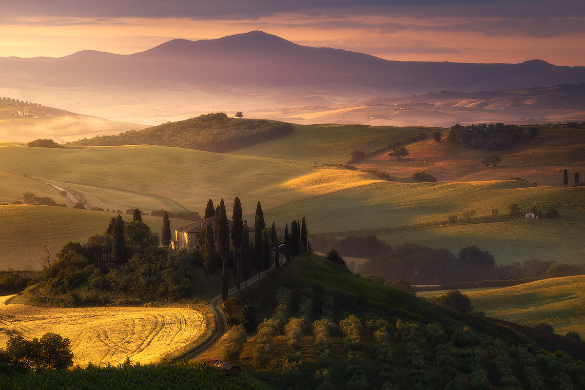 Belvedere, Val d 'Orcia...