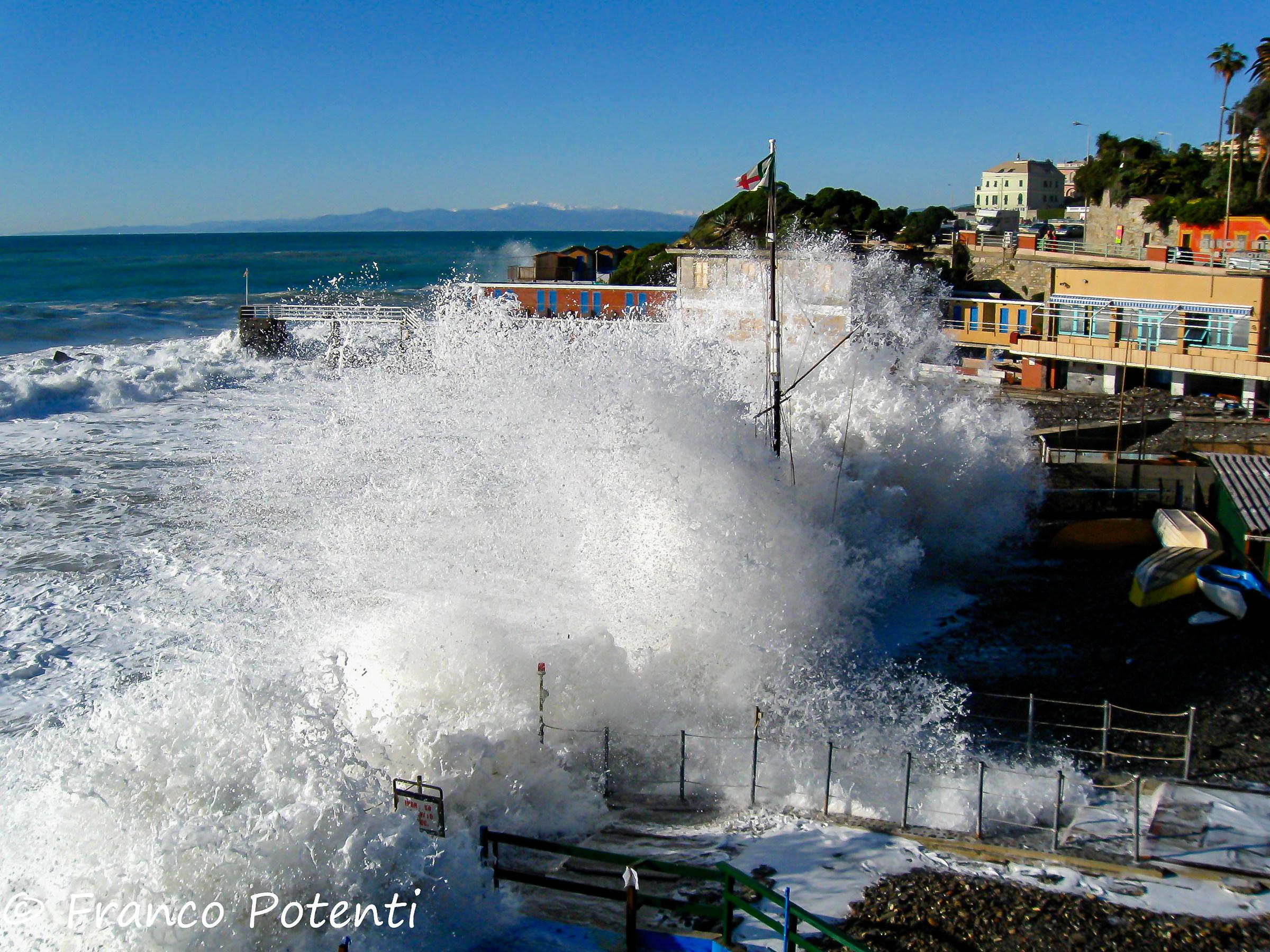 Storm No. 4 Bai Beach...