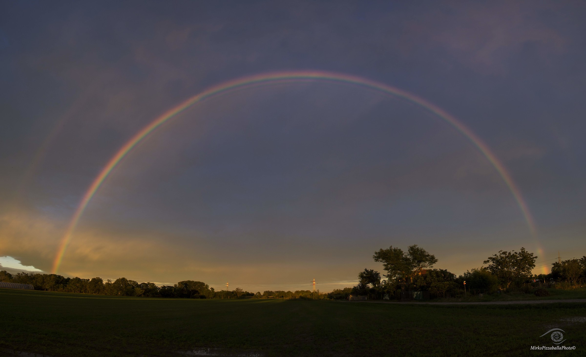 l'arcobaleno...