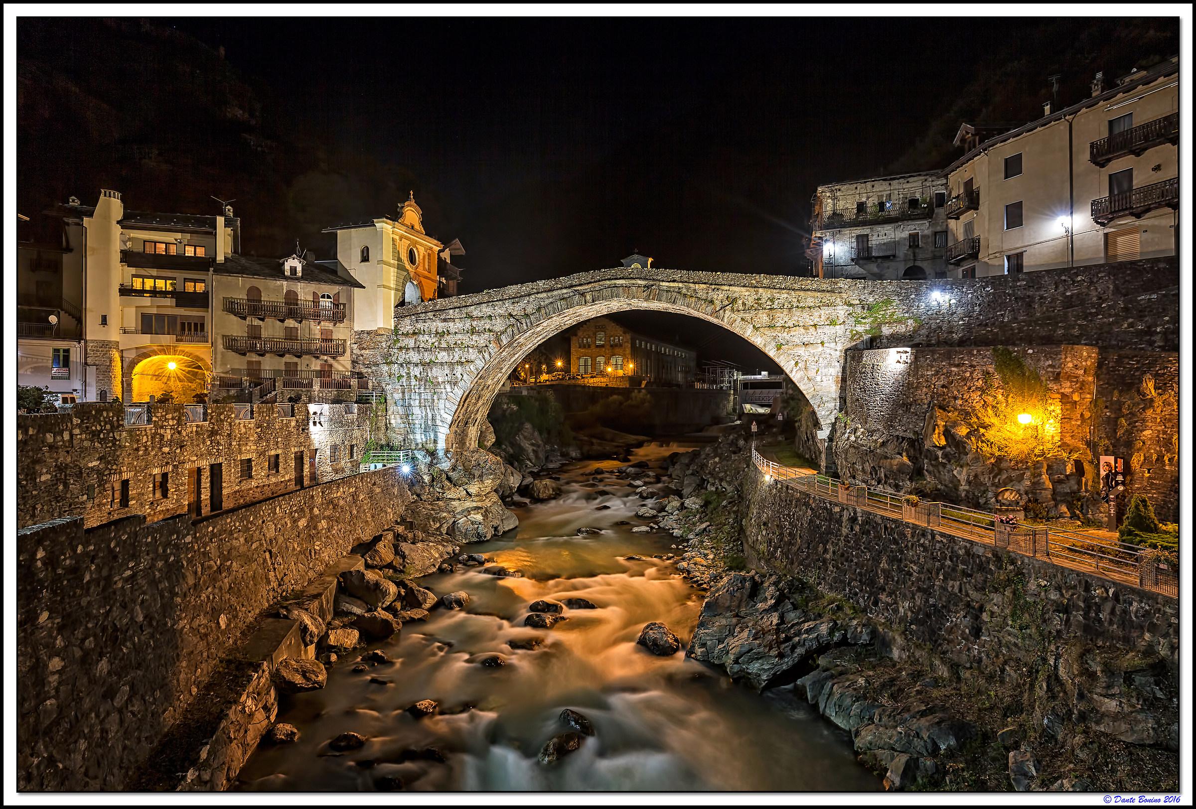 Roman bridge...
