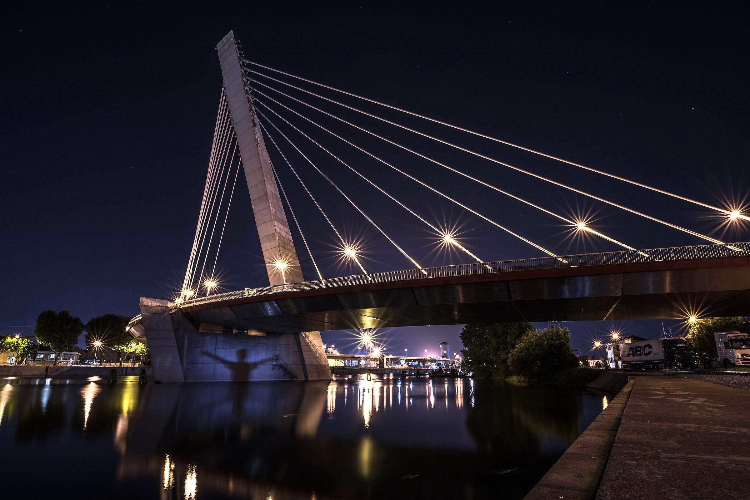 shadows under the bridge...