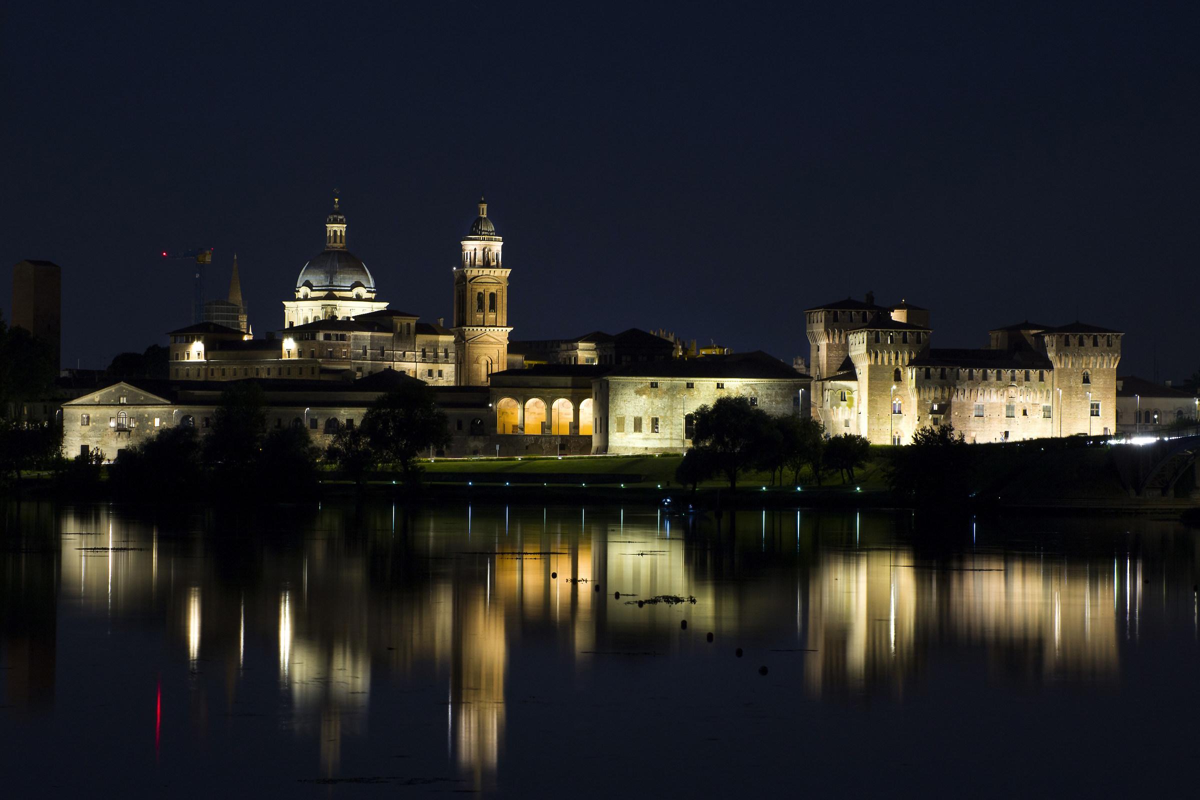 The beautiful Mantova...