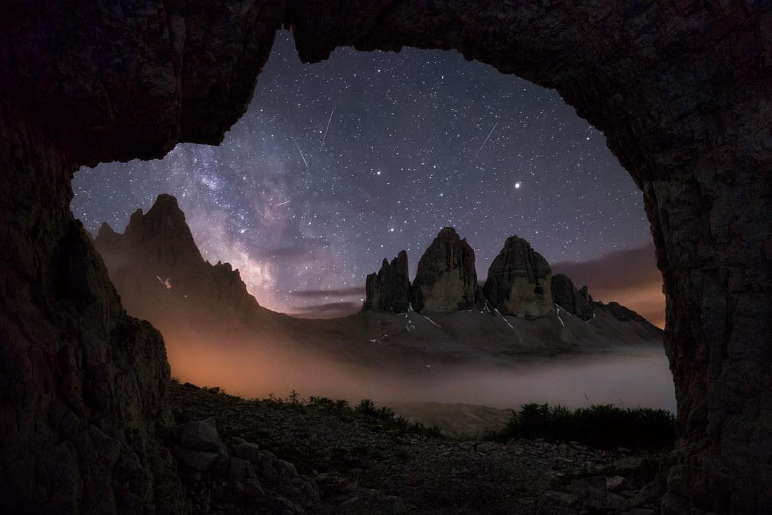 Tre Cime dalla Caverna...