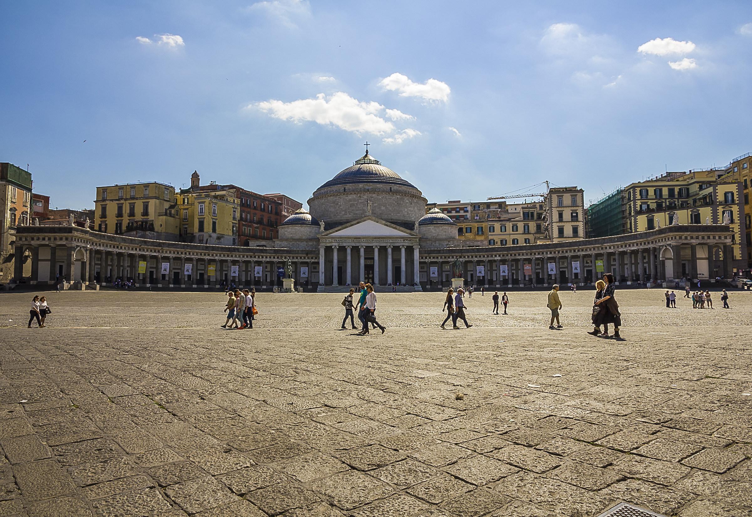 Piazza del Plebiscito...