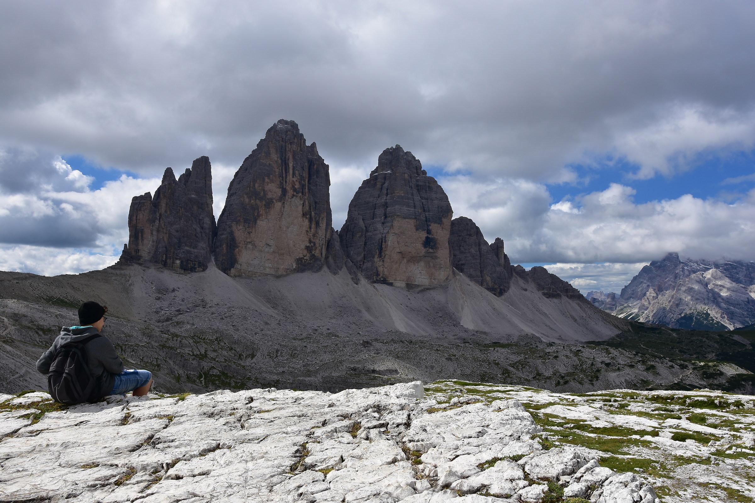 Three Peaks (Federico Enchanted by Panorama)...