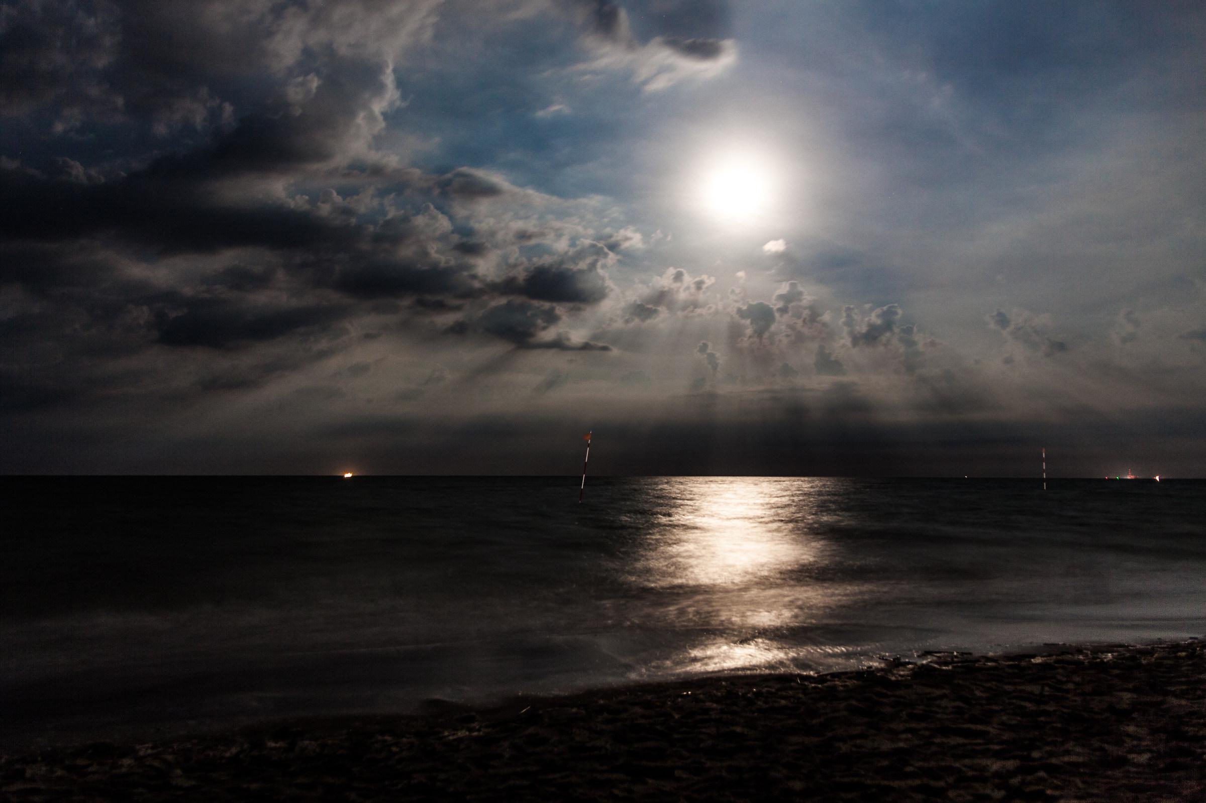 Midnight sun...