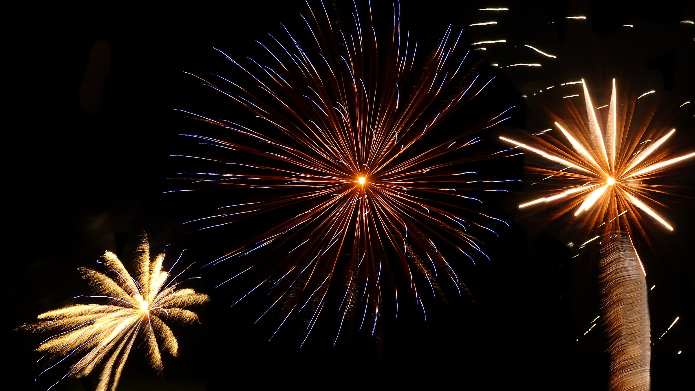 Fireworks first test...
