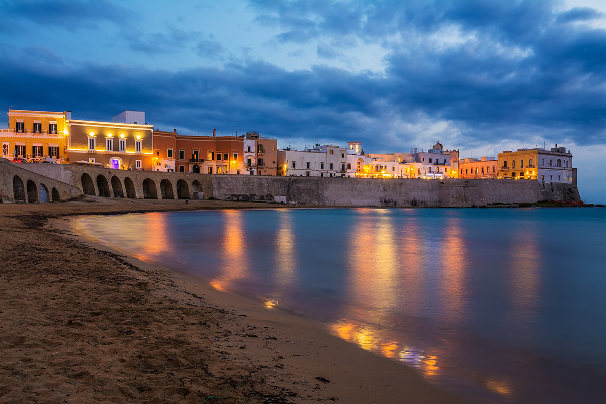 The blue hour of Gallipoli...
