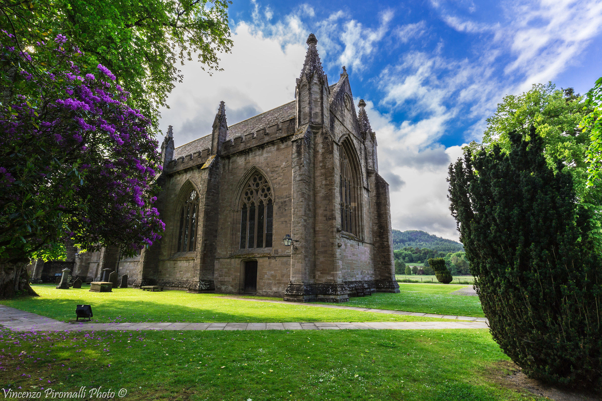 Dunkeld's cathedral...