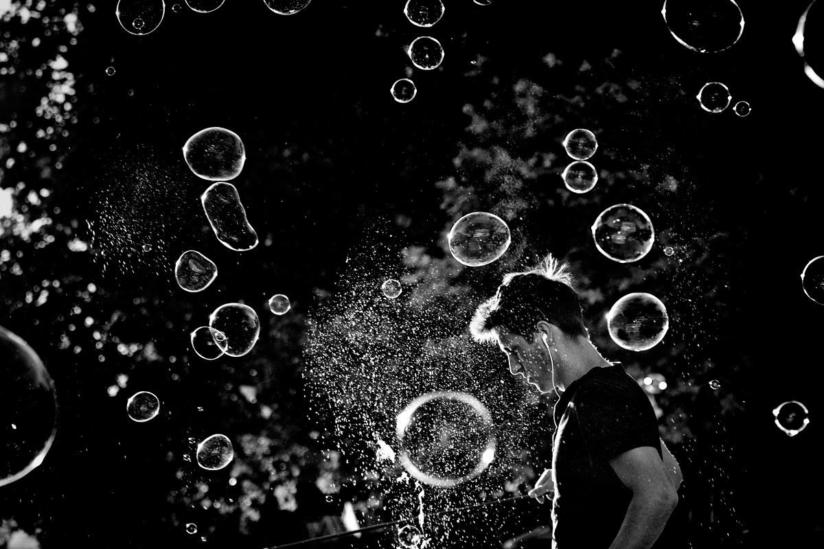 The Boy In The Bubble. Berlin...