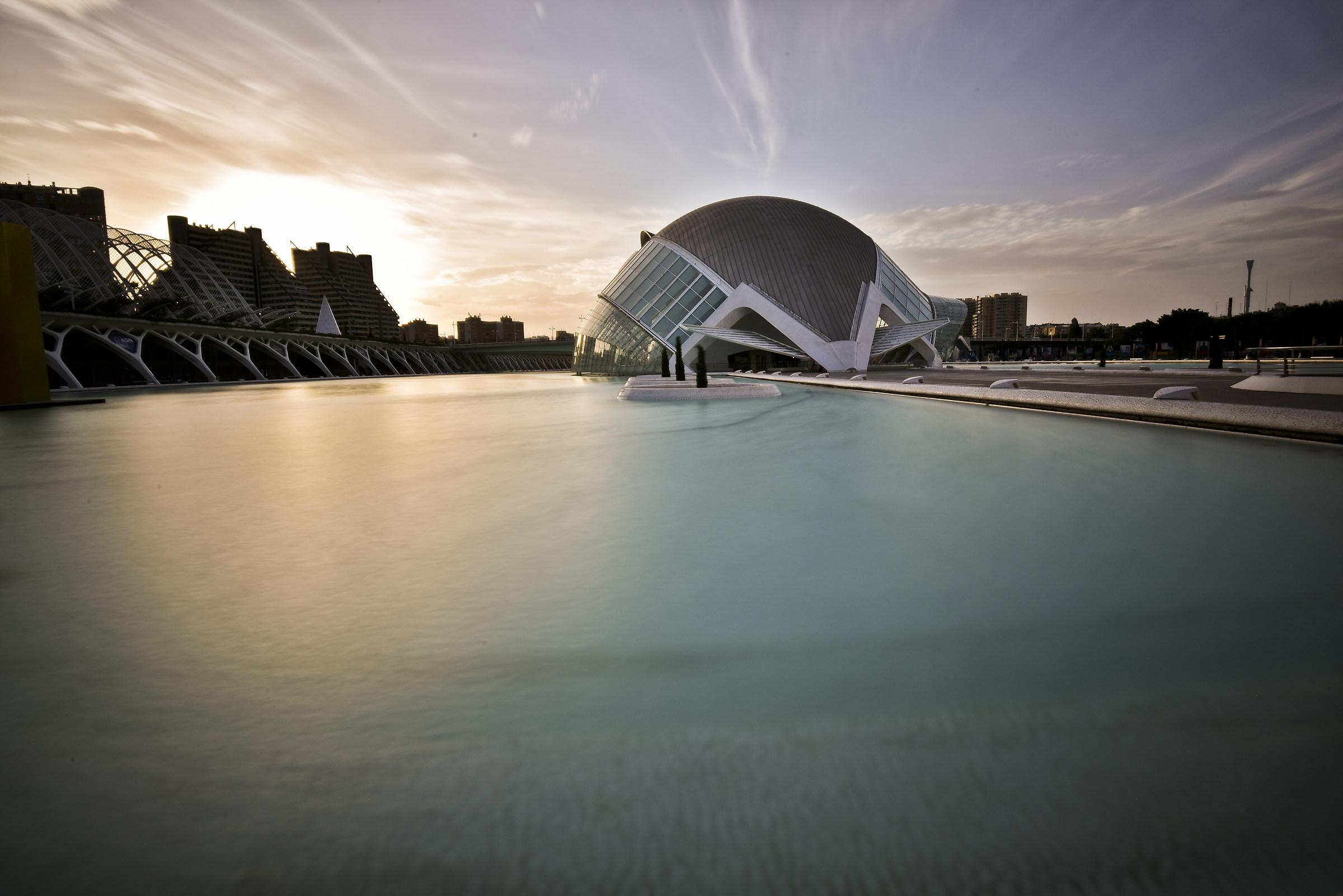valencia  ciudad de las artes y las ciencias...