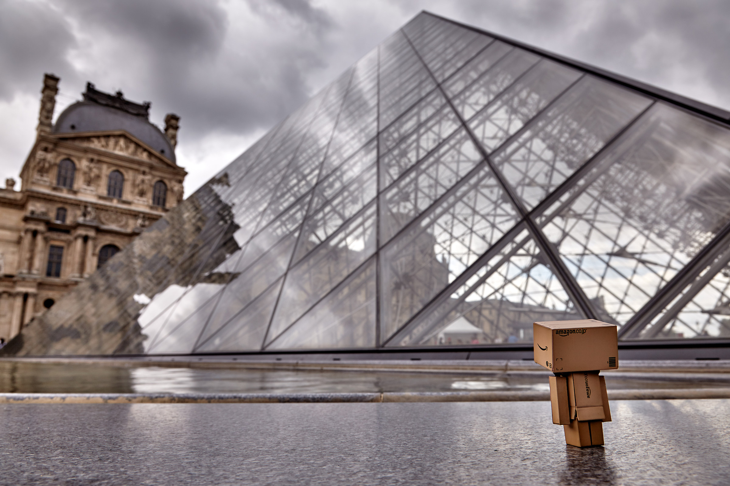 Danbo the Louvre...