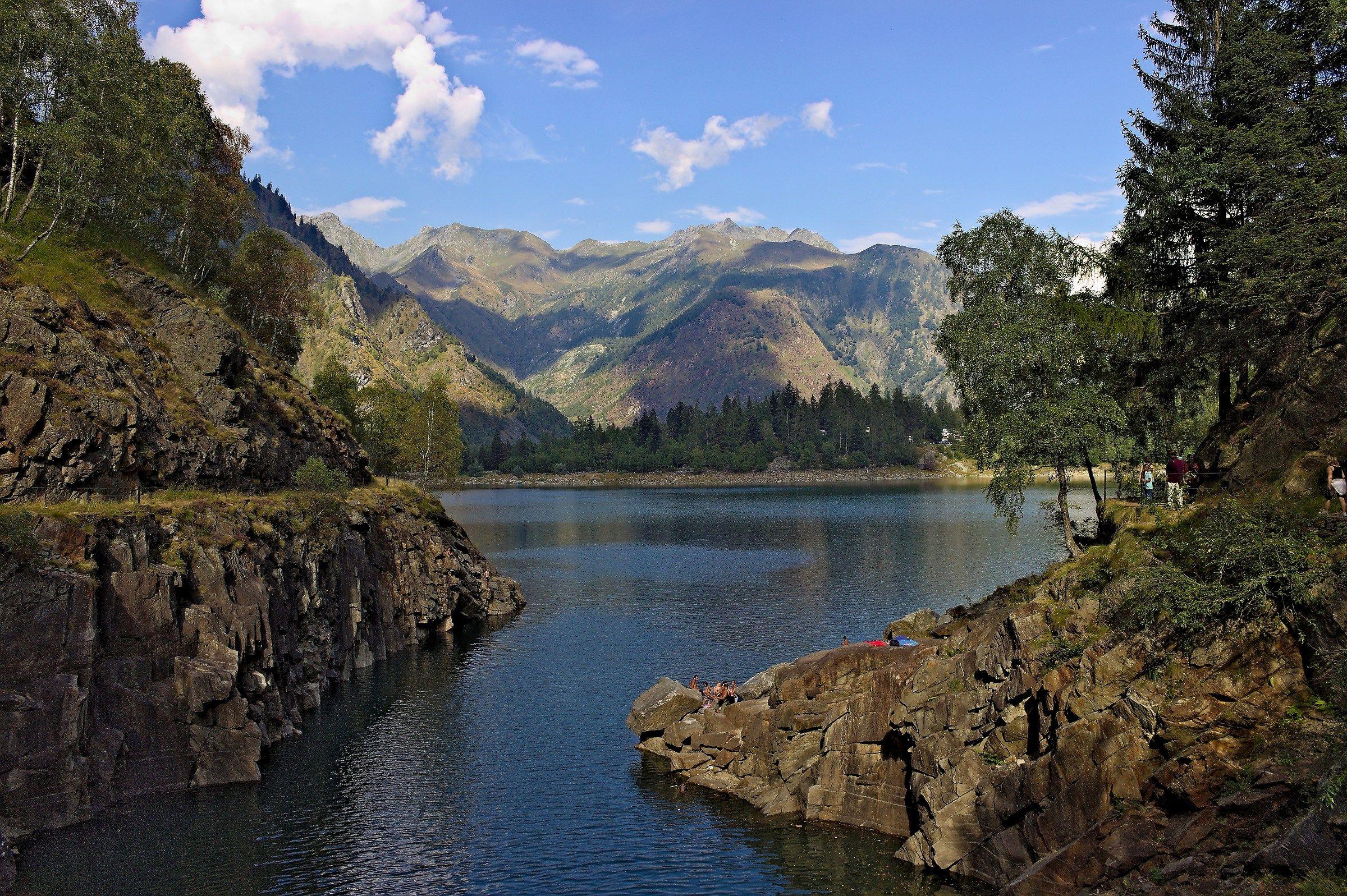 Lake Antrona...