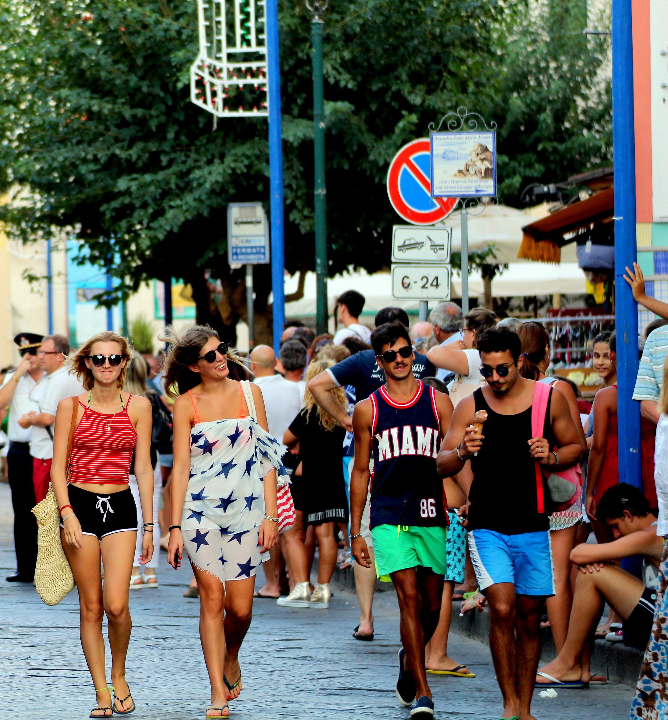 Happiness in a photo stolen. Tourist always x...