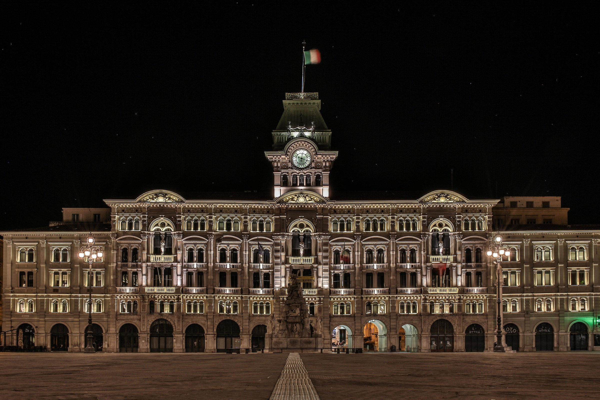 square unit -Trieste...