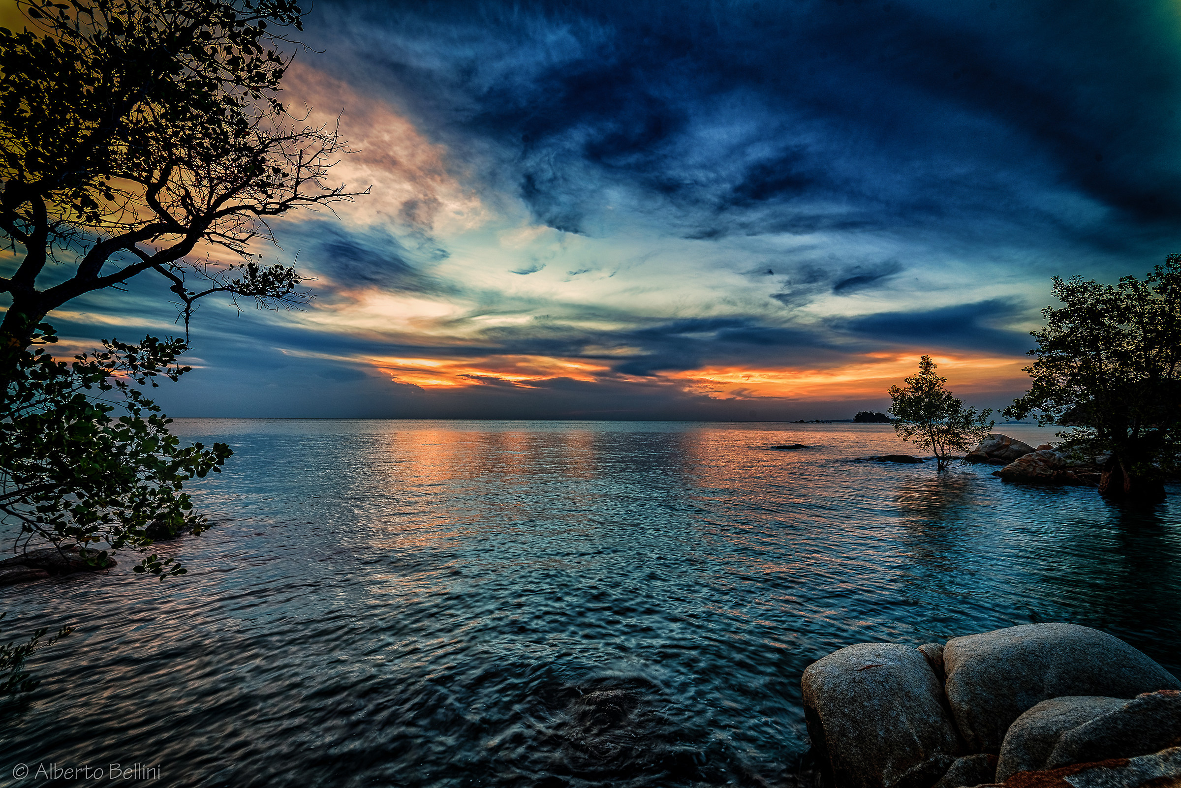 A stone's throw from work ..... Karimun Island Indonesia...