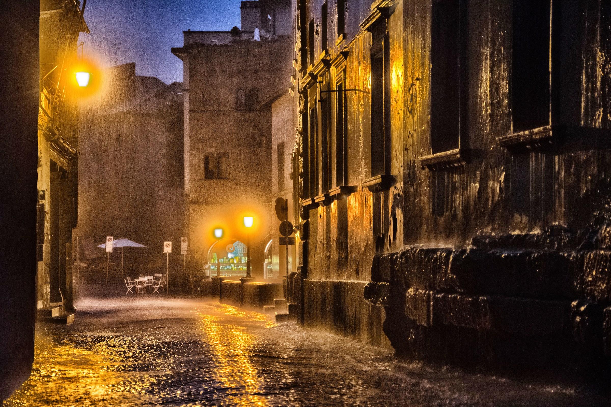 Gancio fino pioggia barile downbecco