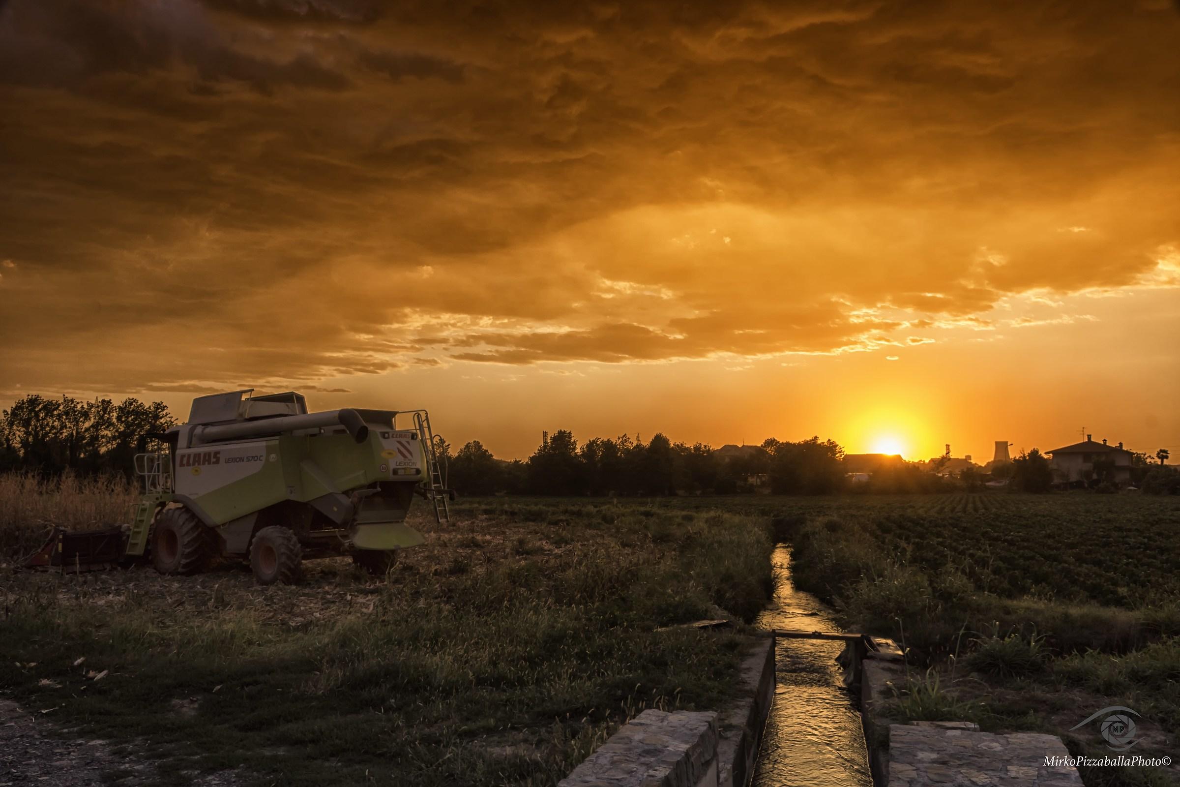 tramonto minaccioso...