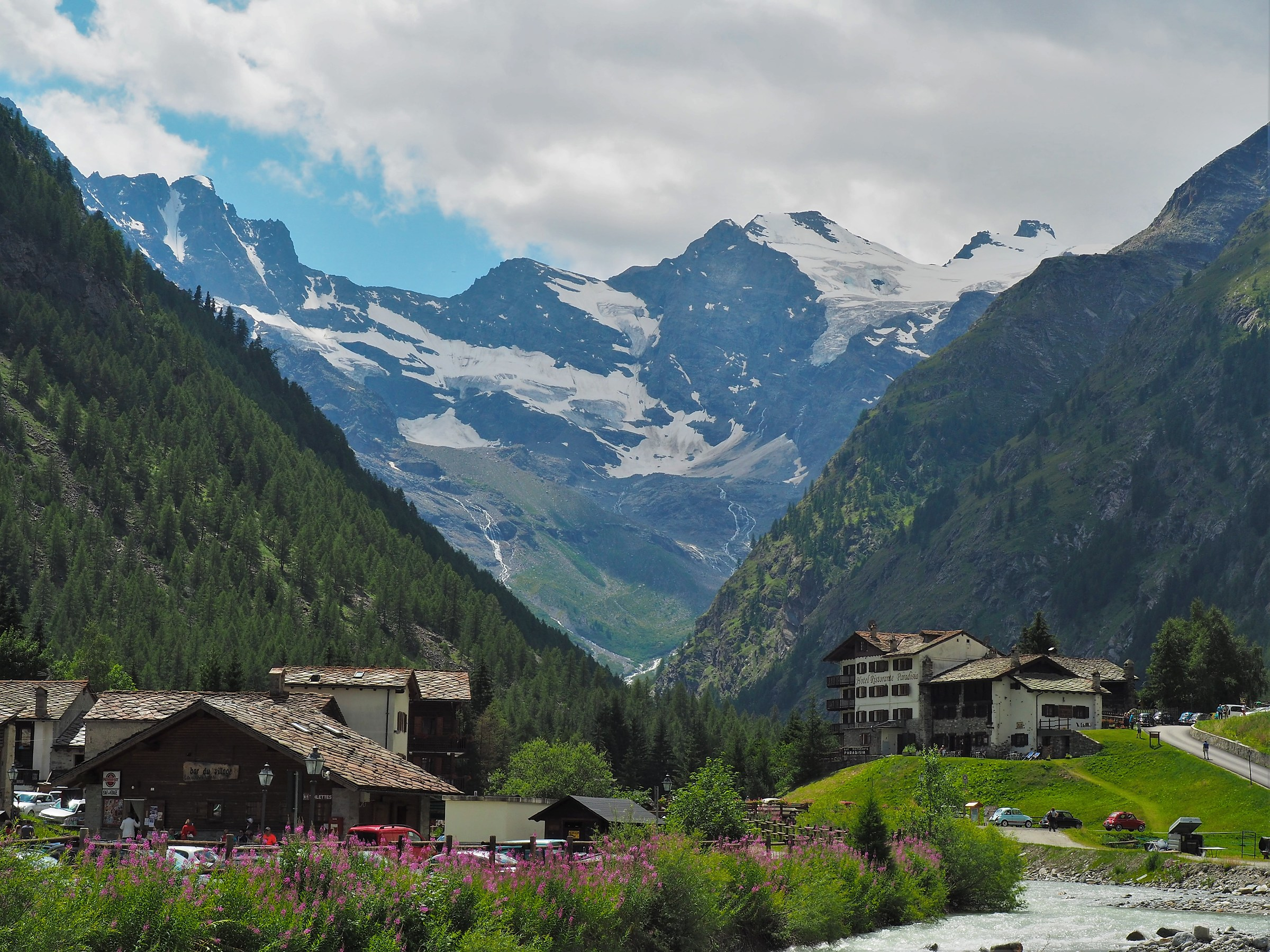 A stone's throw from Gran Paradiso...