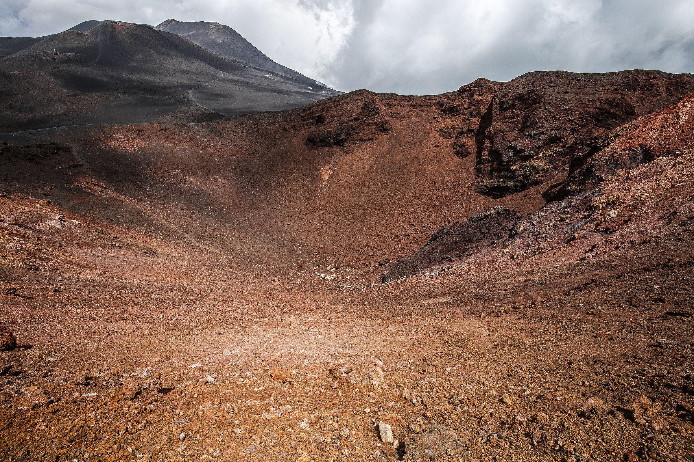 Crateri dell'Etna, 2500mt....