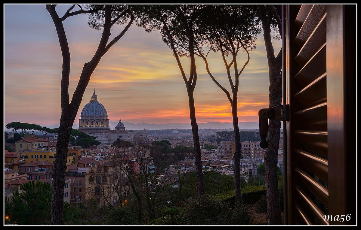 Alba in Rome...