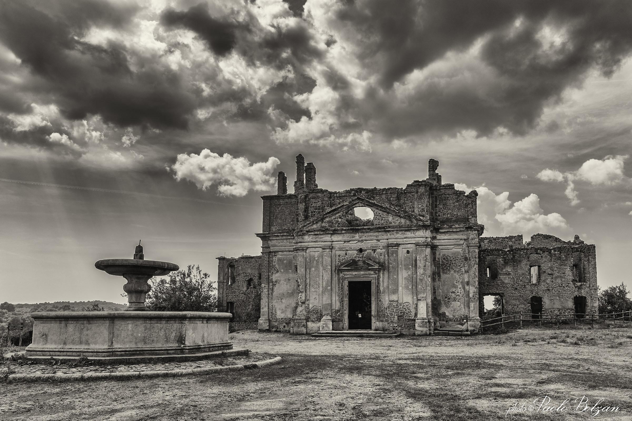 ancient Monterano...
