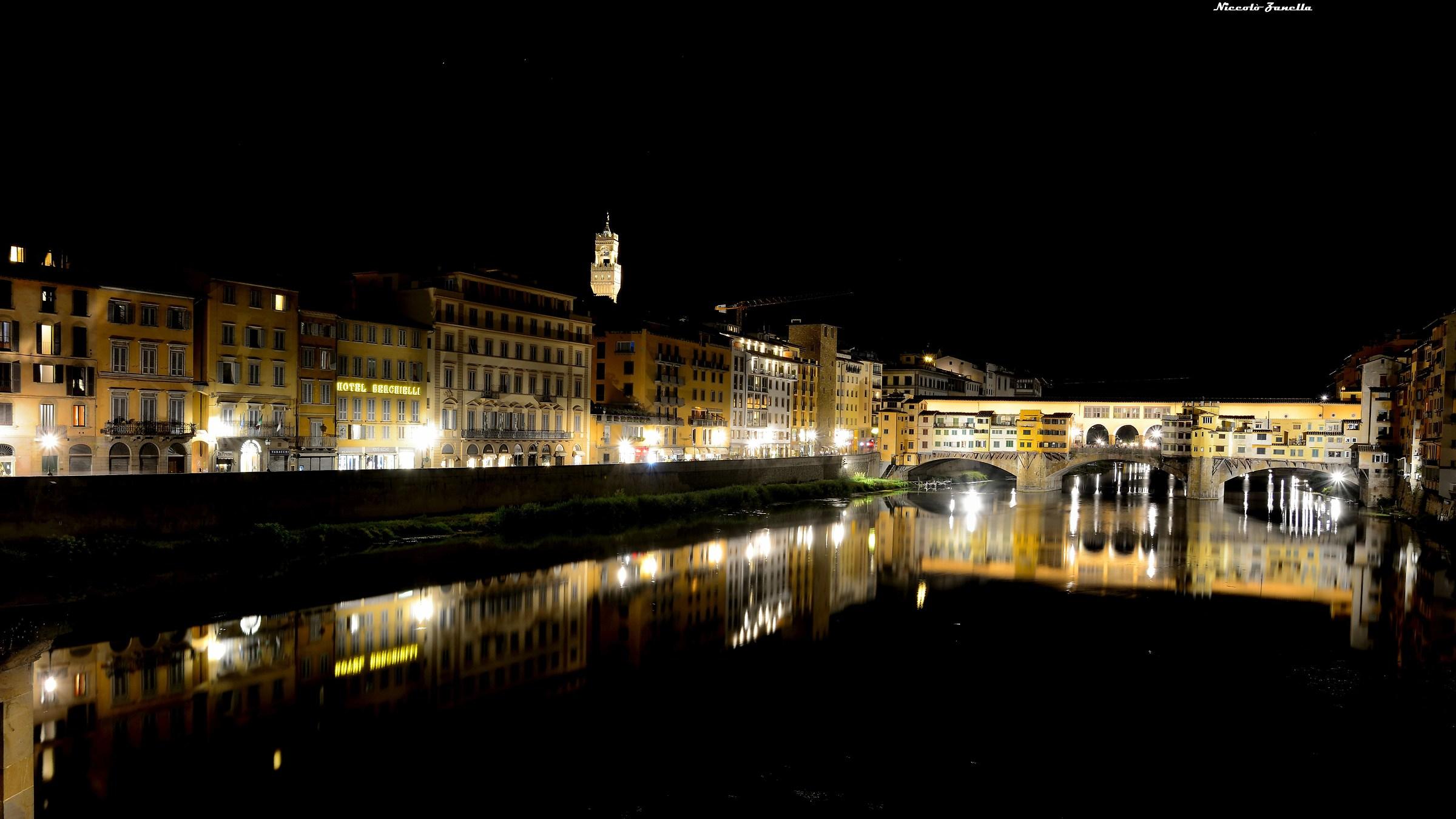 Ponte Vecchio notturno...