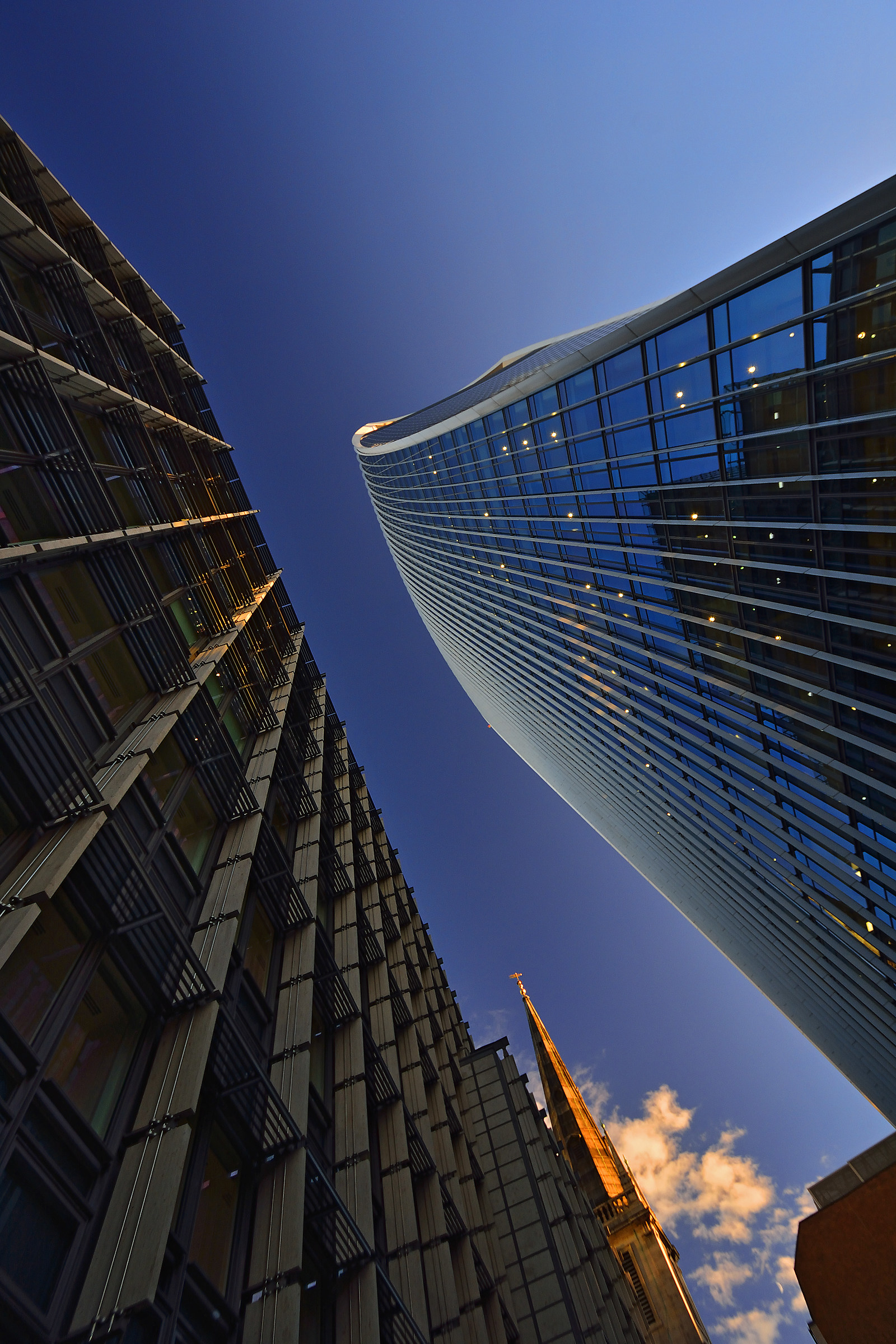 Miscela meravigliosa architettura di Londra!...