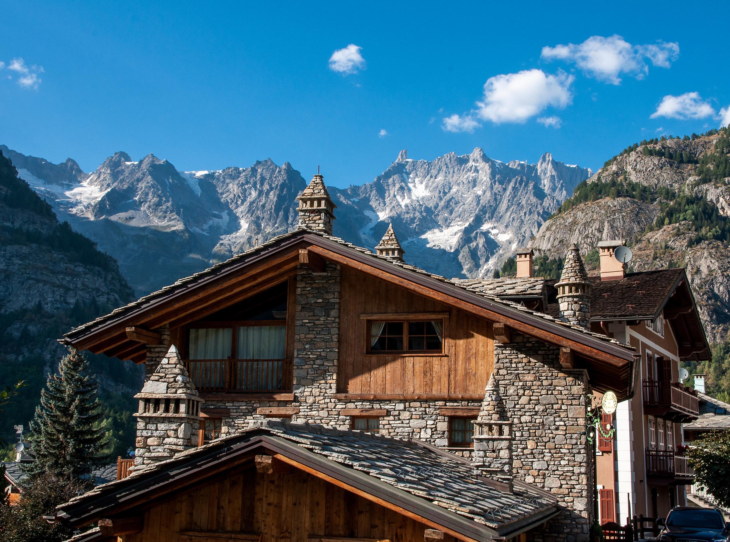 Aosta Valley style, Courmayeur...