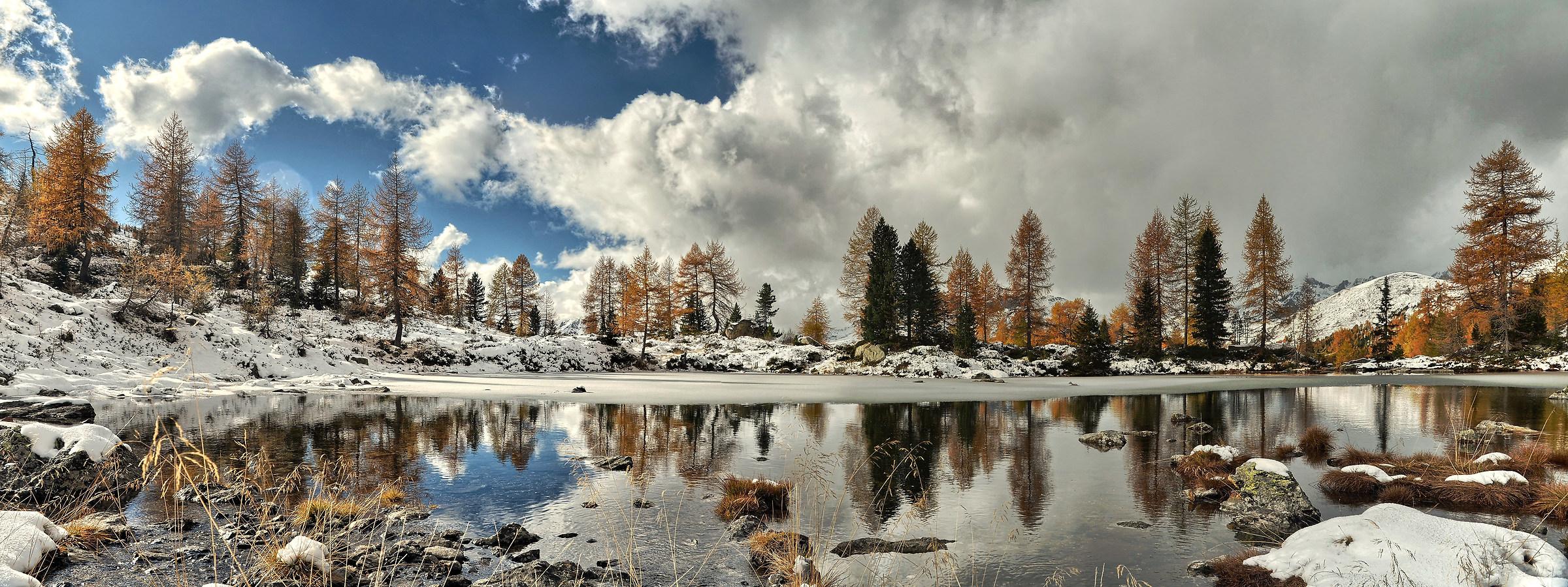 Lake autumn Cengello...
