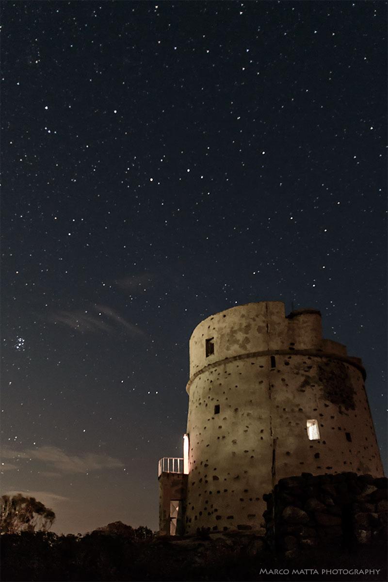 Notturno sulla torre...