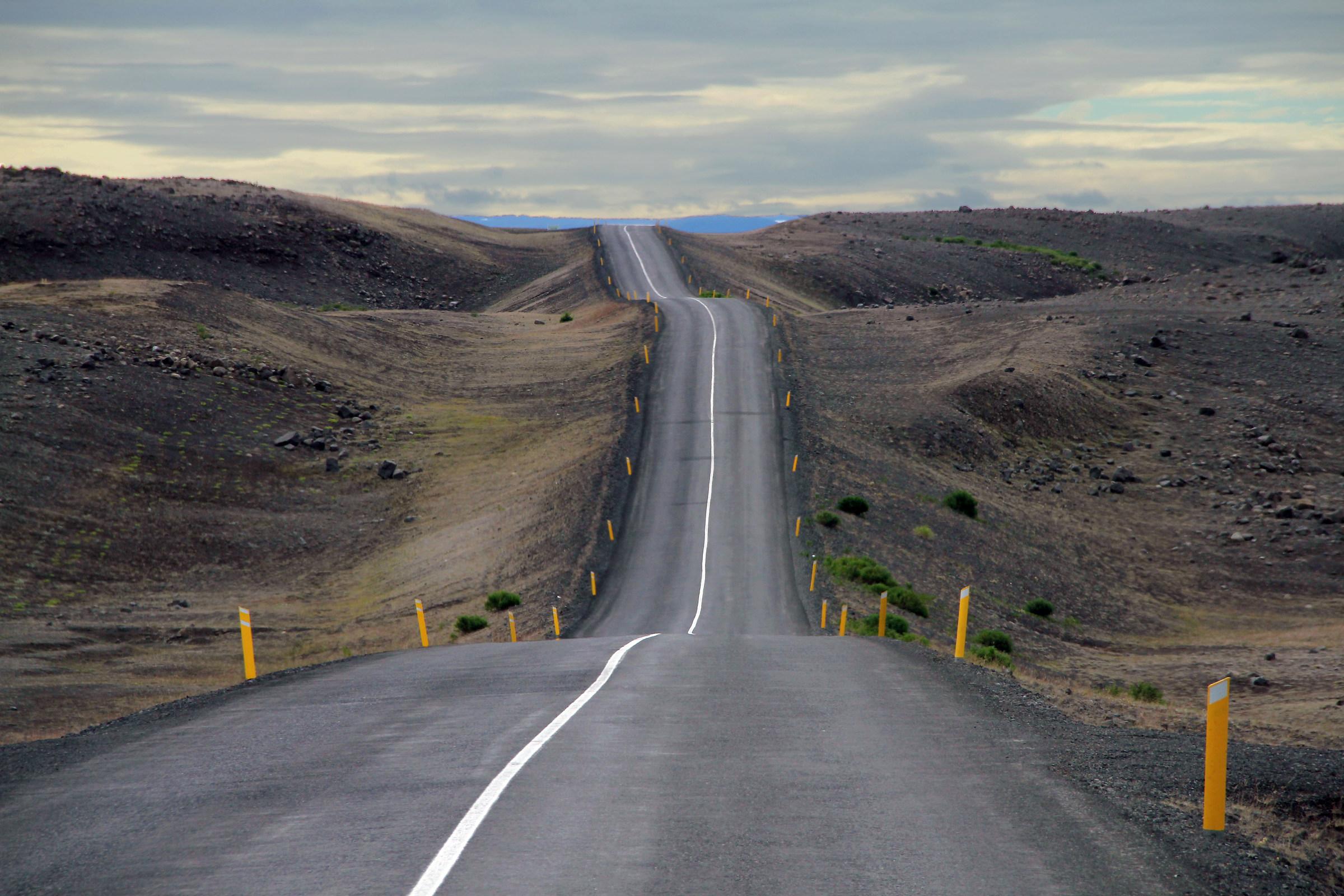 Icelandic roads...