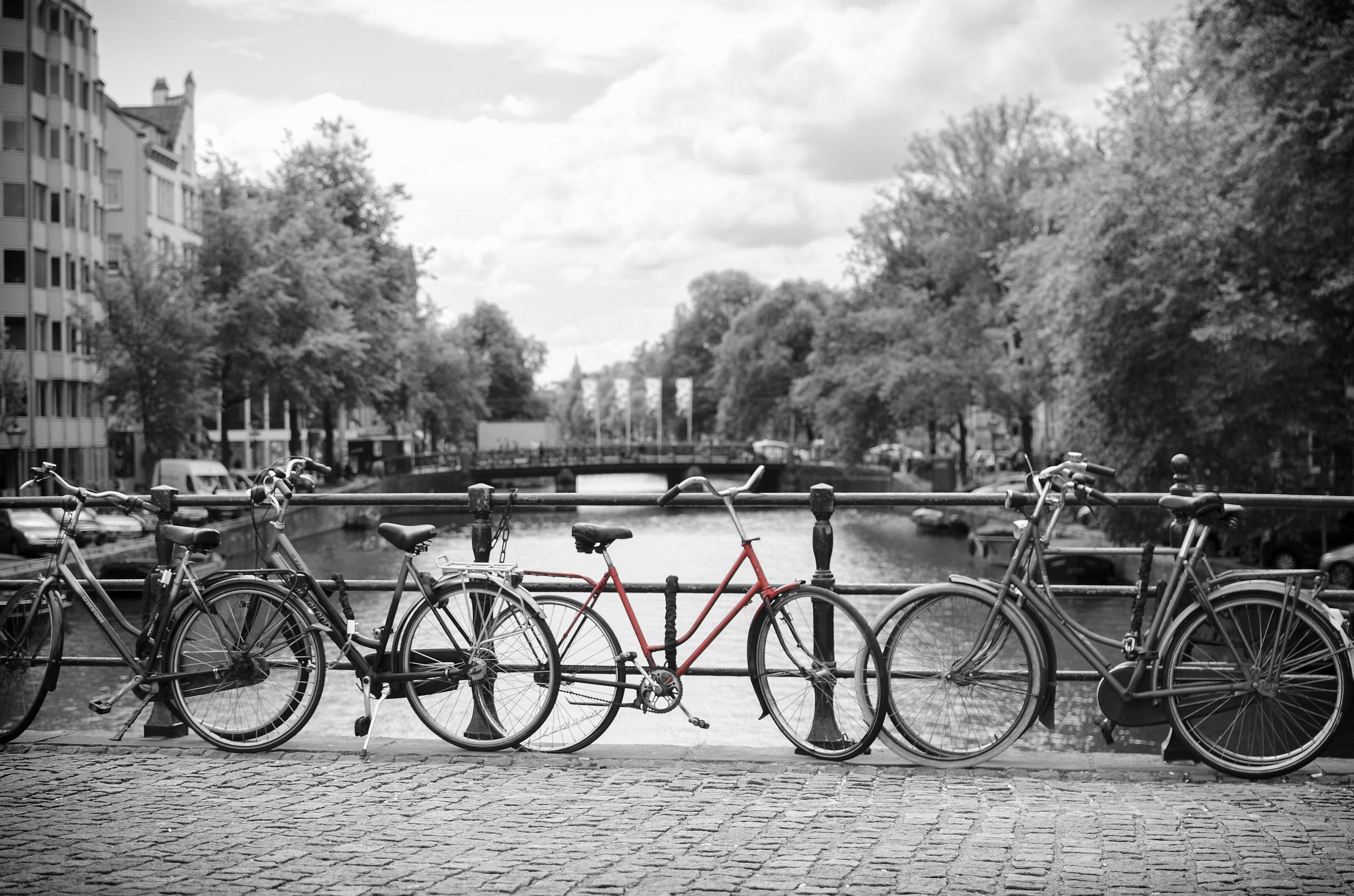 Amsterdam in b&w...