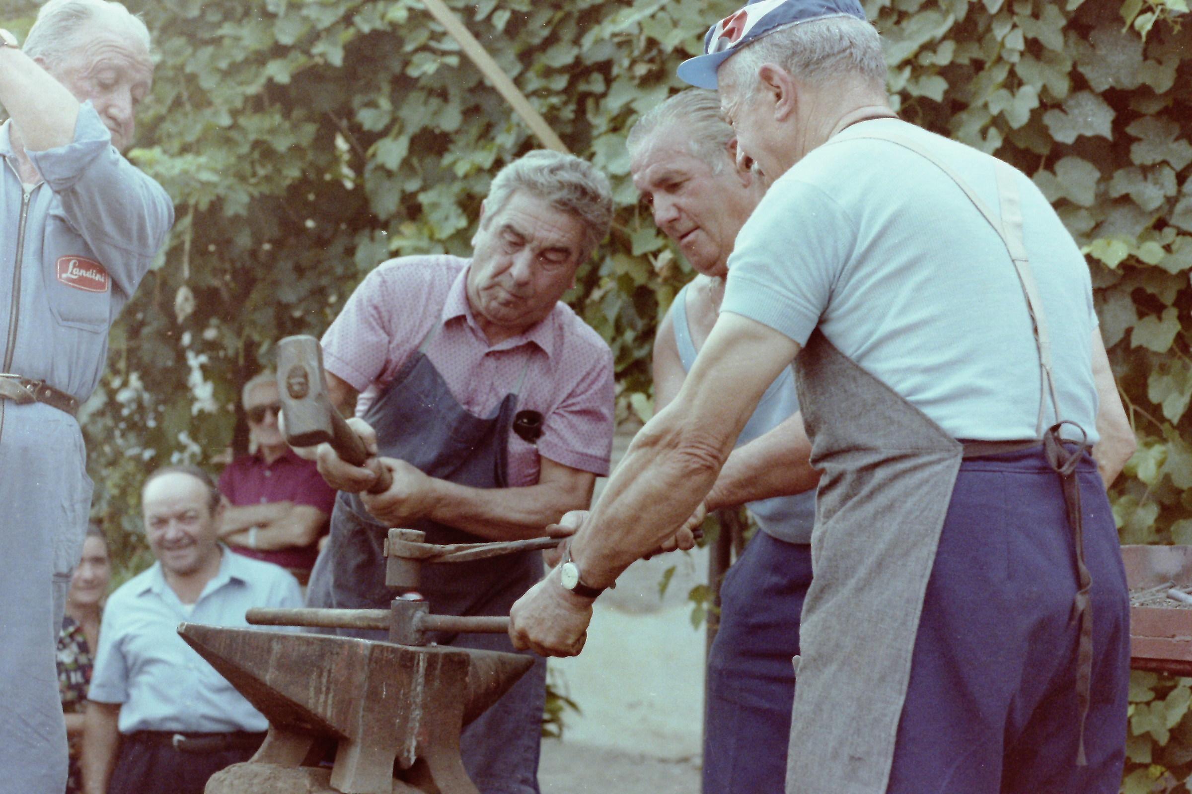 Blacksmiths in action....