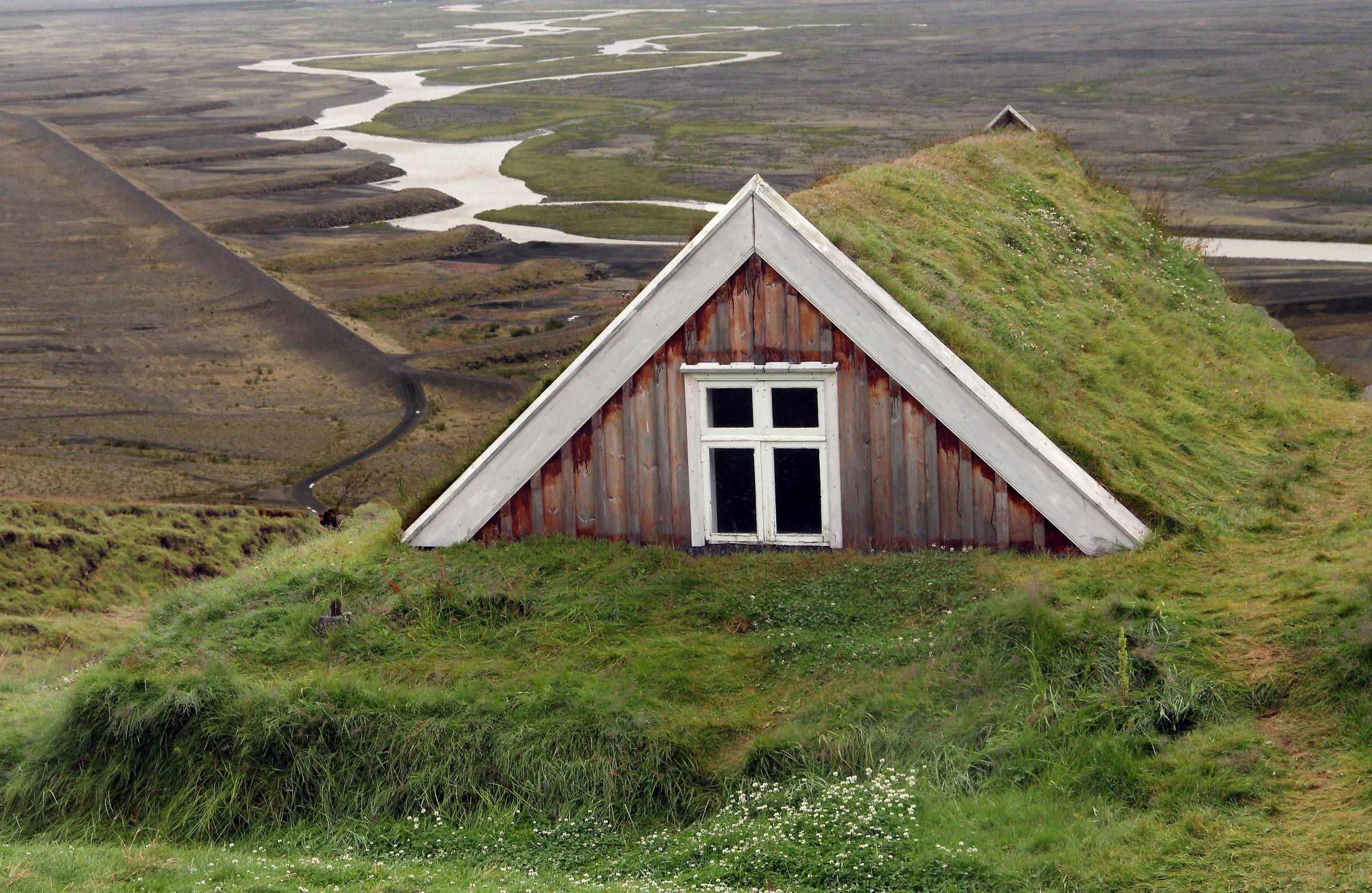 Iceland - Turf huse...