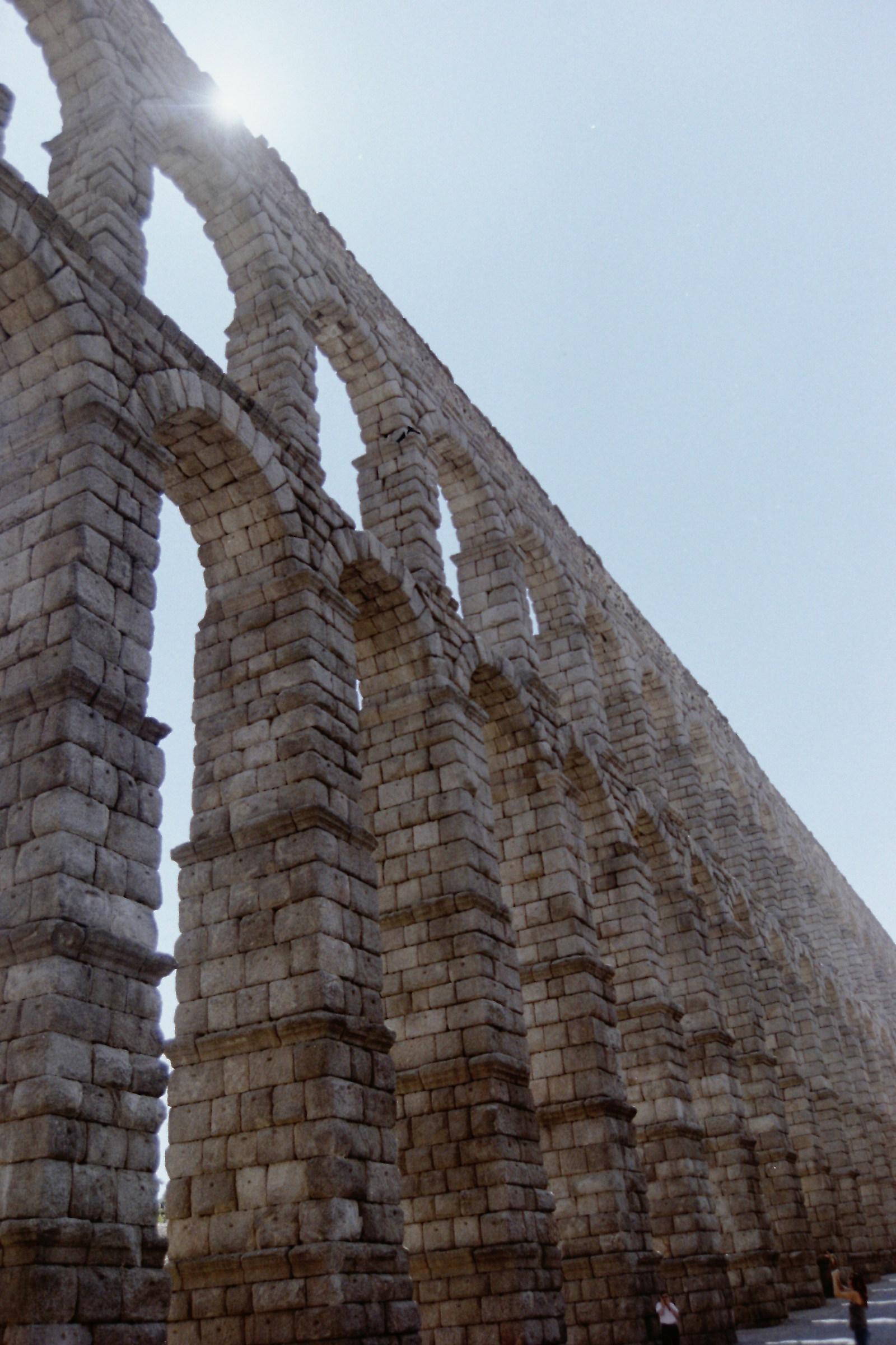 Aqueduct of Oviedo (Spain)...