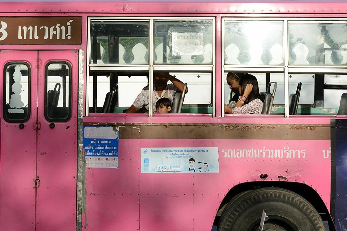 L'autobus...