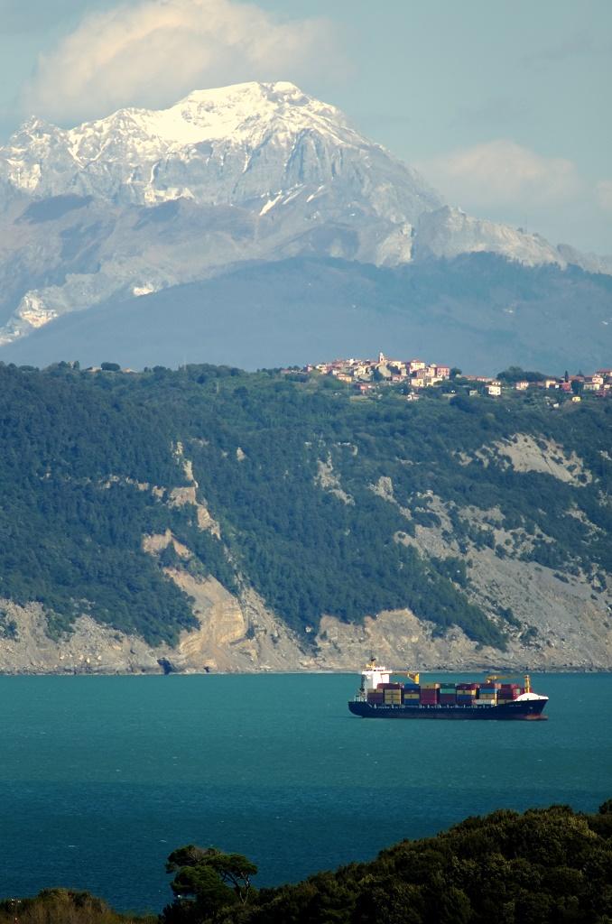 Ligurian coast...